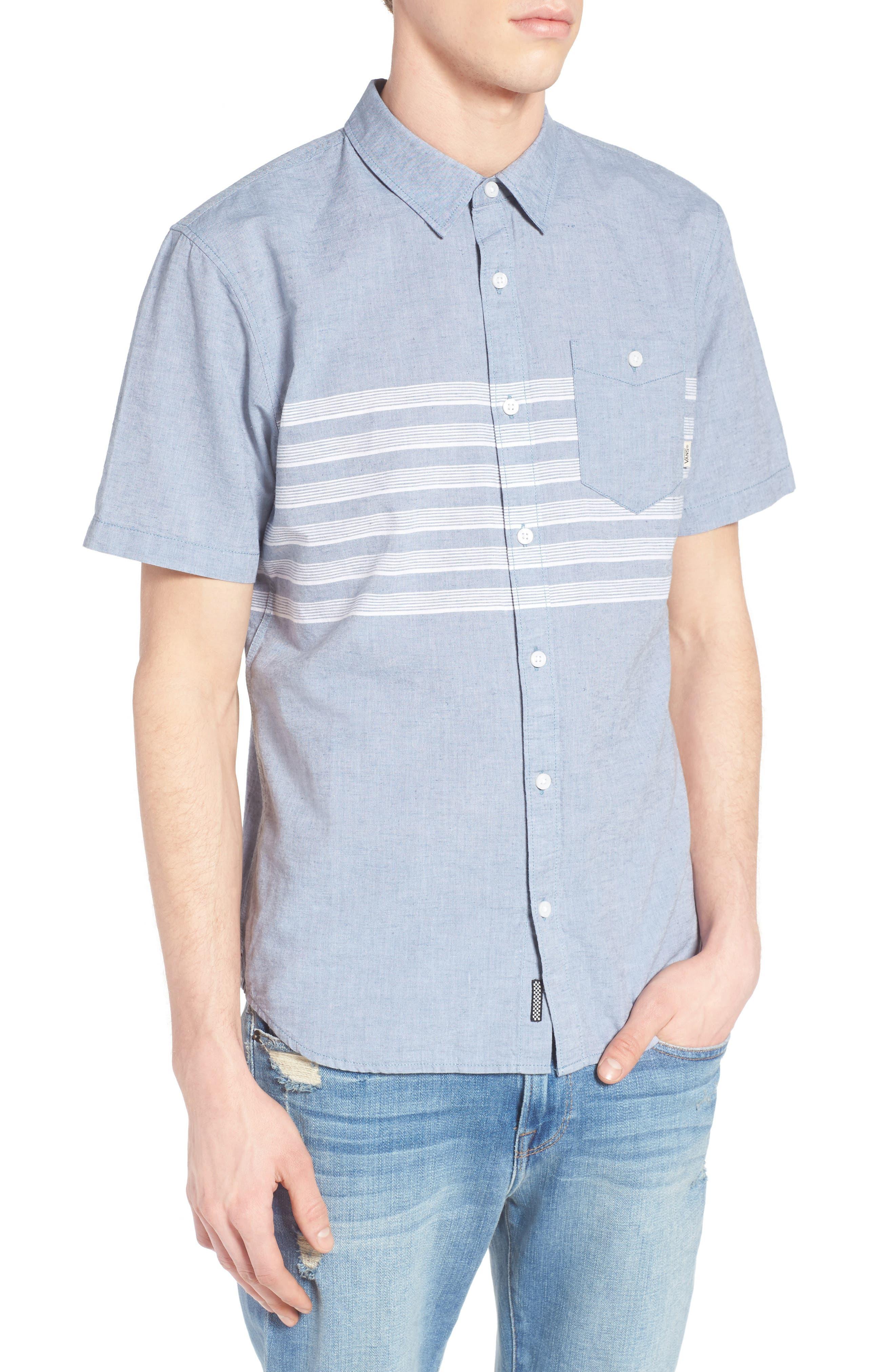 Vans Wallace Stripe Chambray Shirt