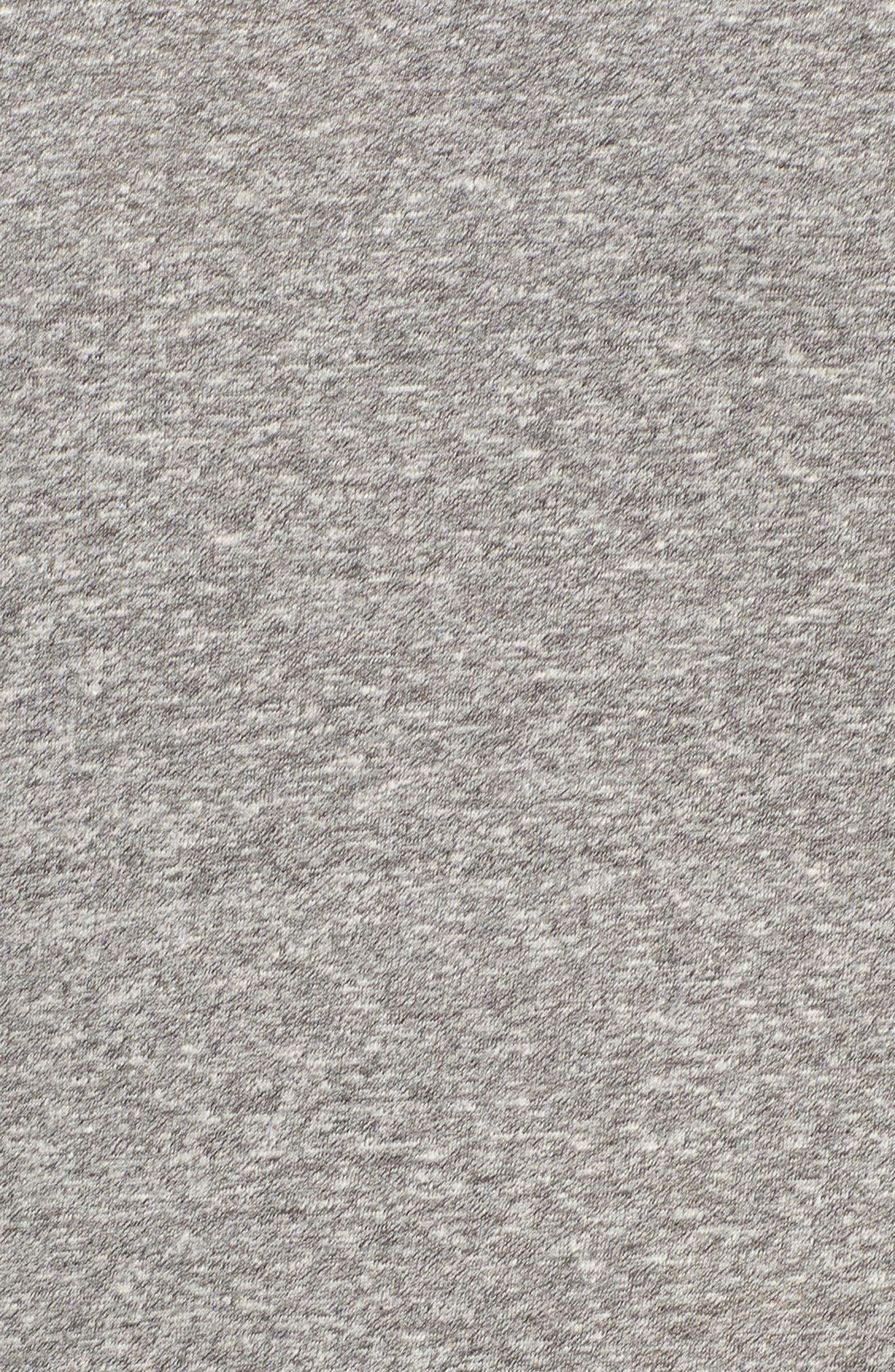 The Perfect Muscle Tee Dress,                             Alternate thumbnail 5, color,                             Heather Grey