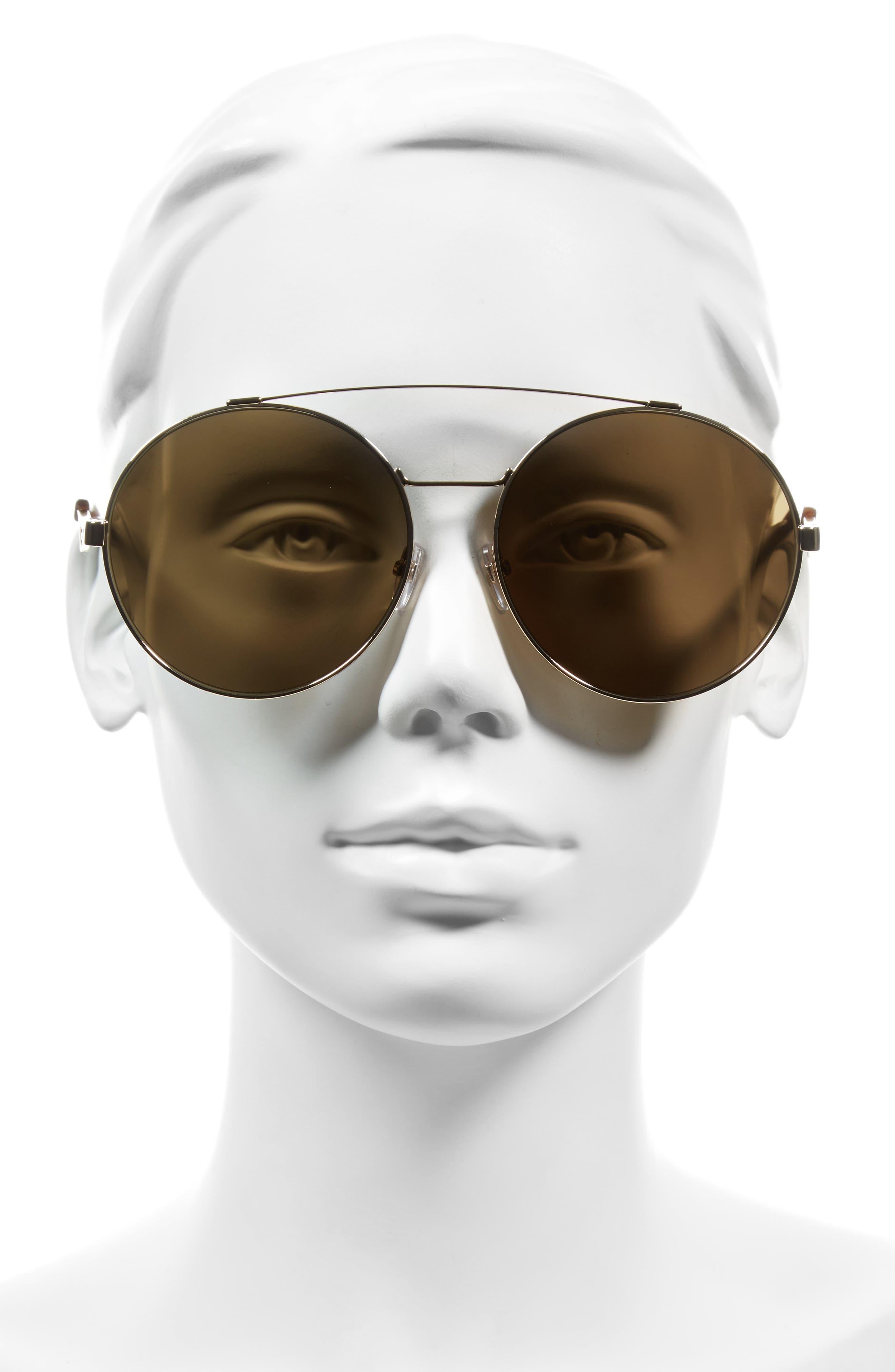 Alternate Image 2  - Givenchy 62mm Round Sunglasses
