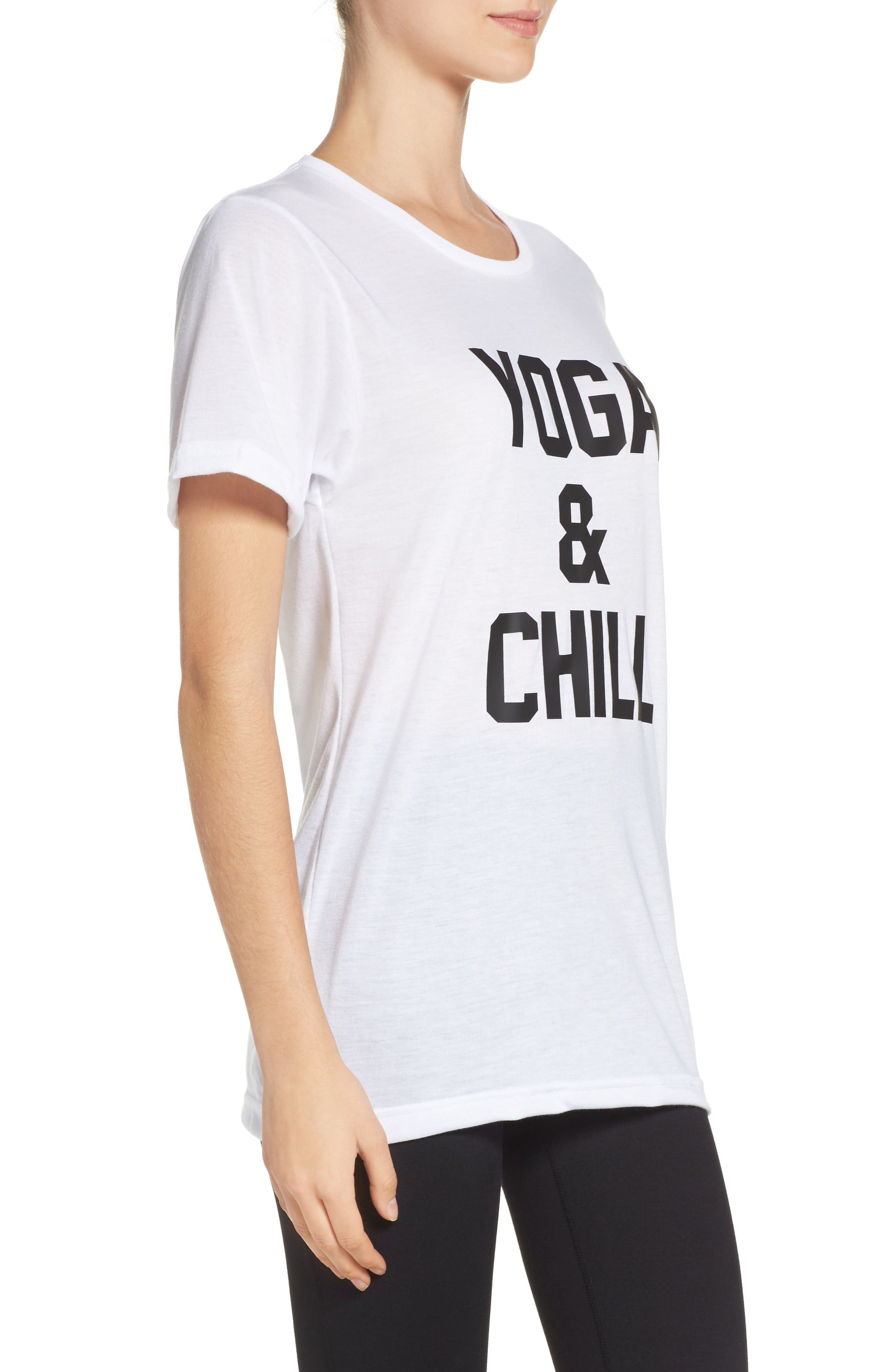 Alternate Image 3  - Private Party Yoga & Chill Tee