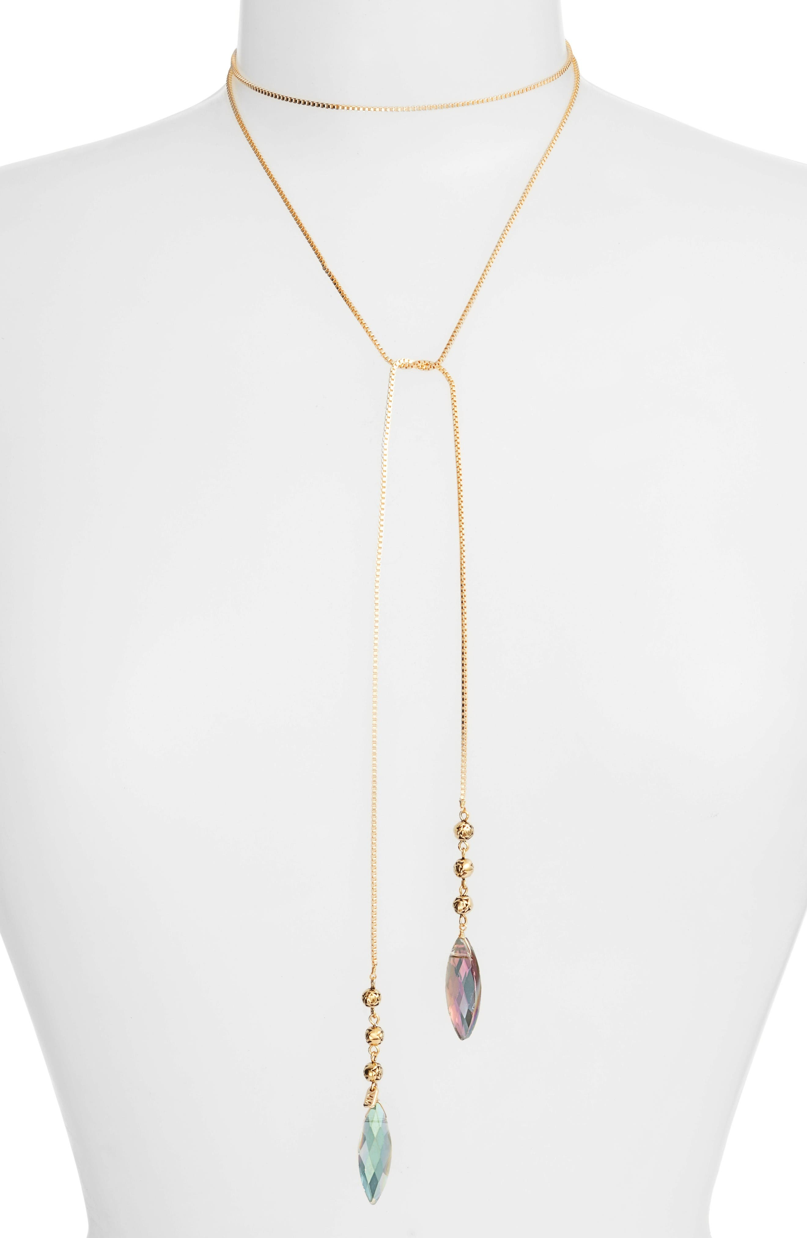 VANESSA MOONEY Knoxville Bolo Wrap Necklace