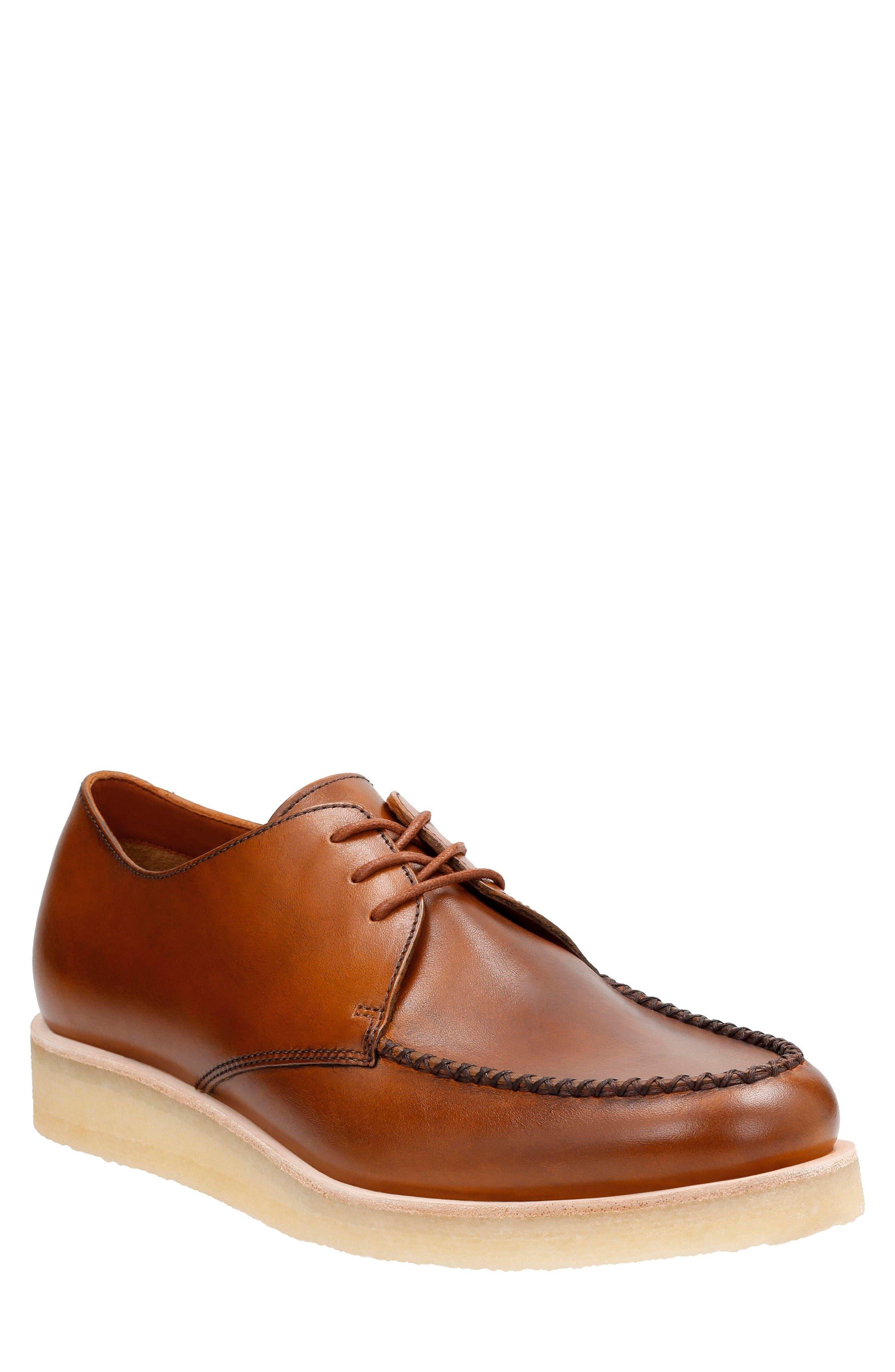 Clarks® Burcott Field Moc Toe Derby (Men)