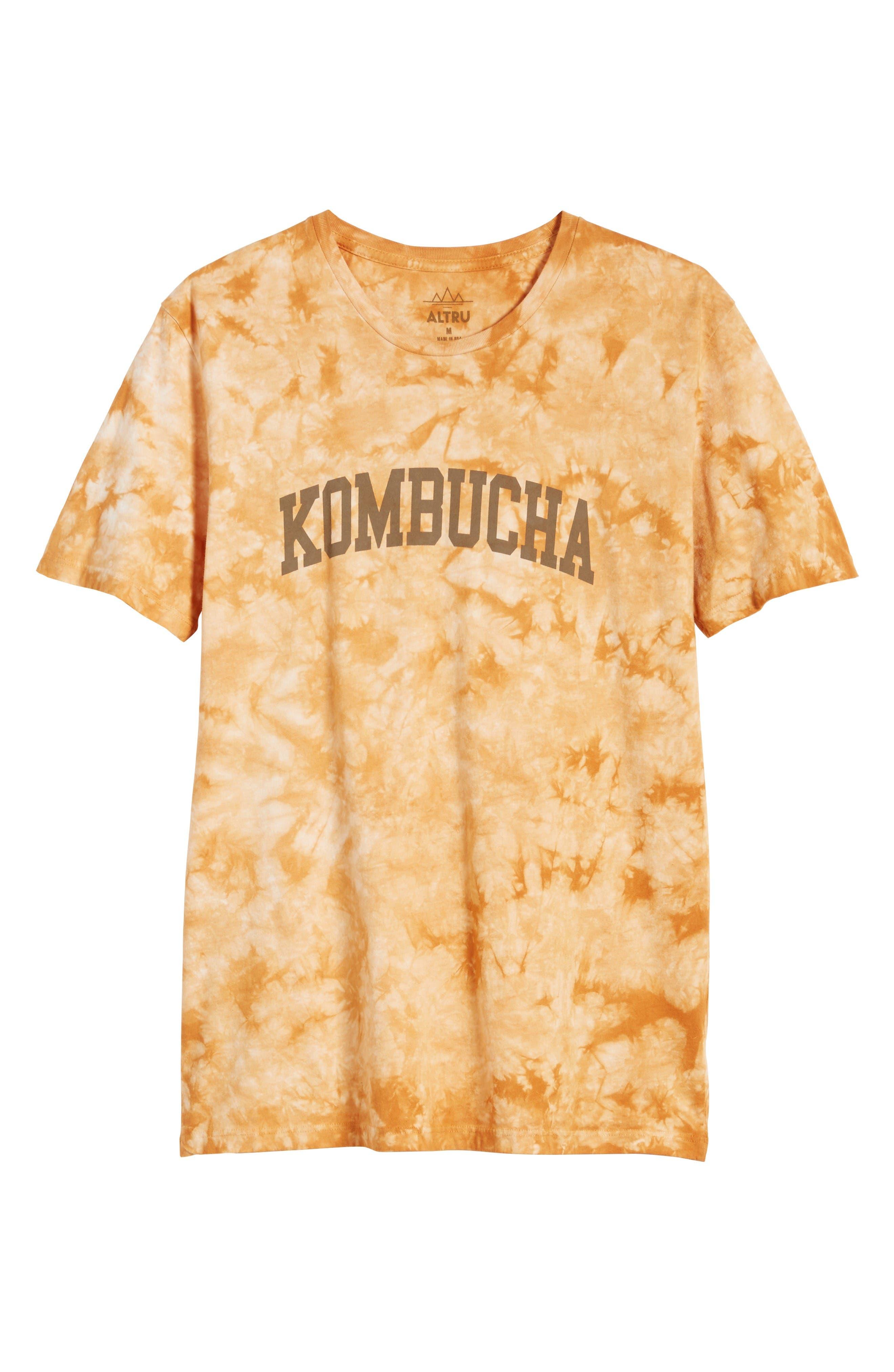 Tie Dye Kombucha Graphic T-Shirt,                             Alternate thumbnail 6, color,                             Cloud Desert Sand