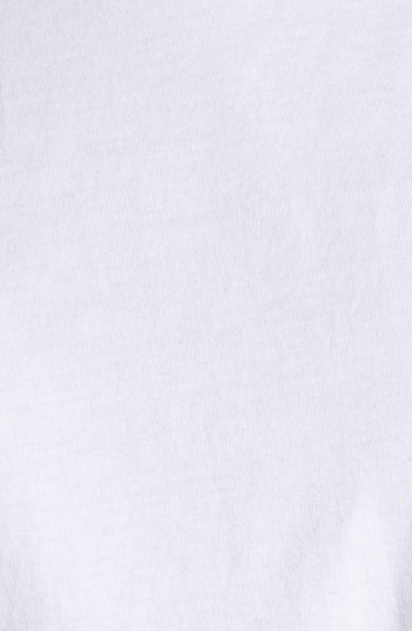 Blonde Lounge Tee,                             Alternate thumbnail 5, color,                             White