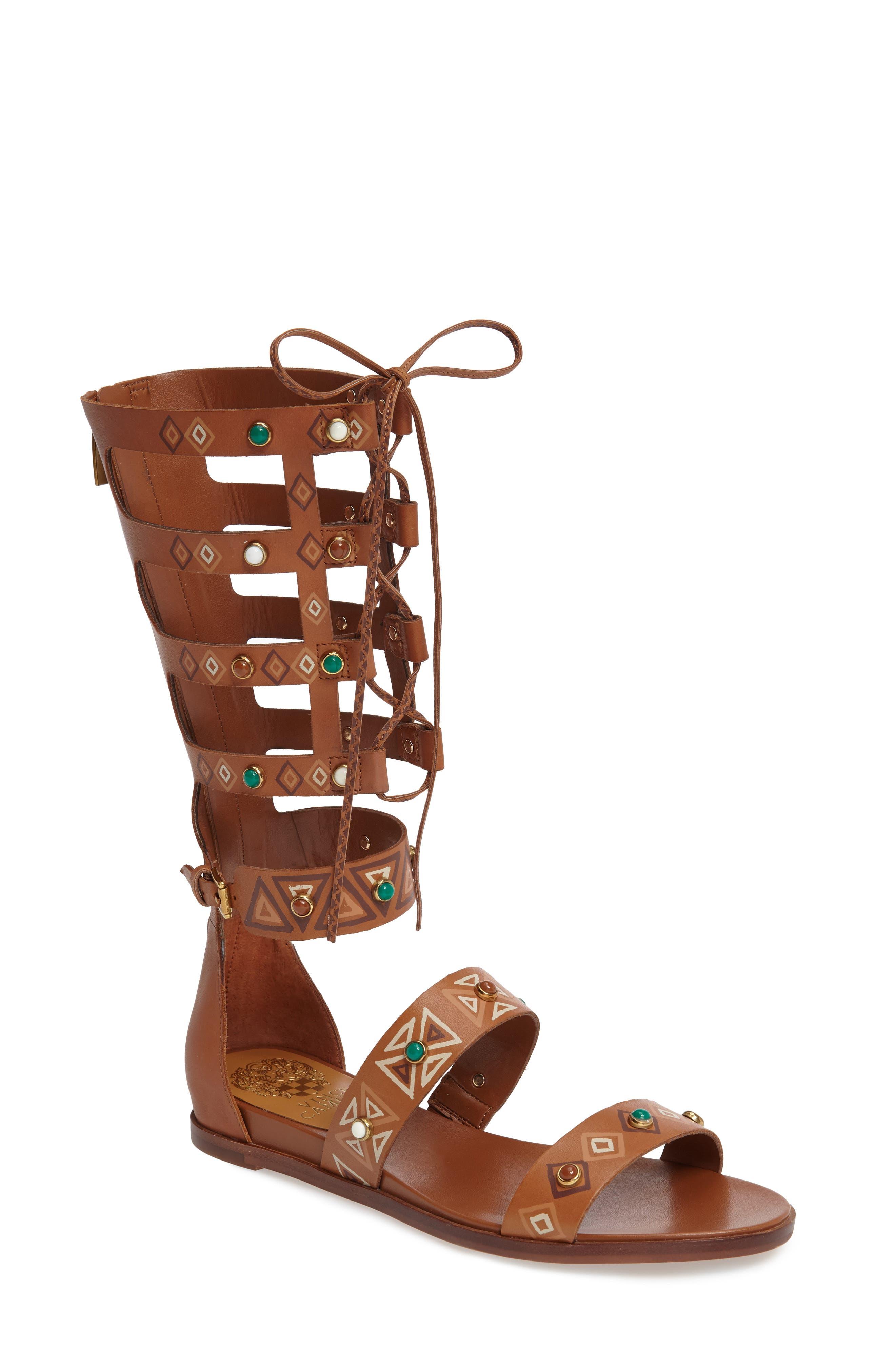 Alternate Image 1 Selected - Vince Camuto Shandon Gladiator Sandal (Women)
