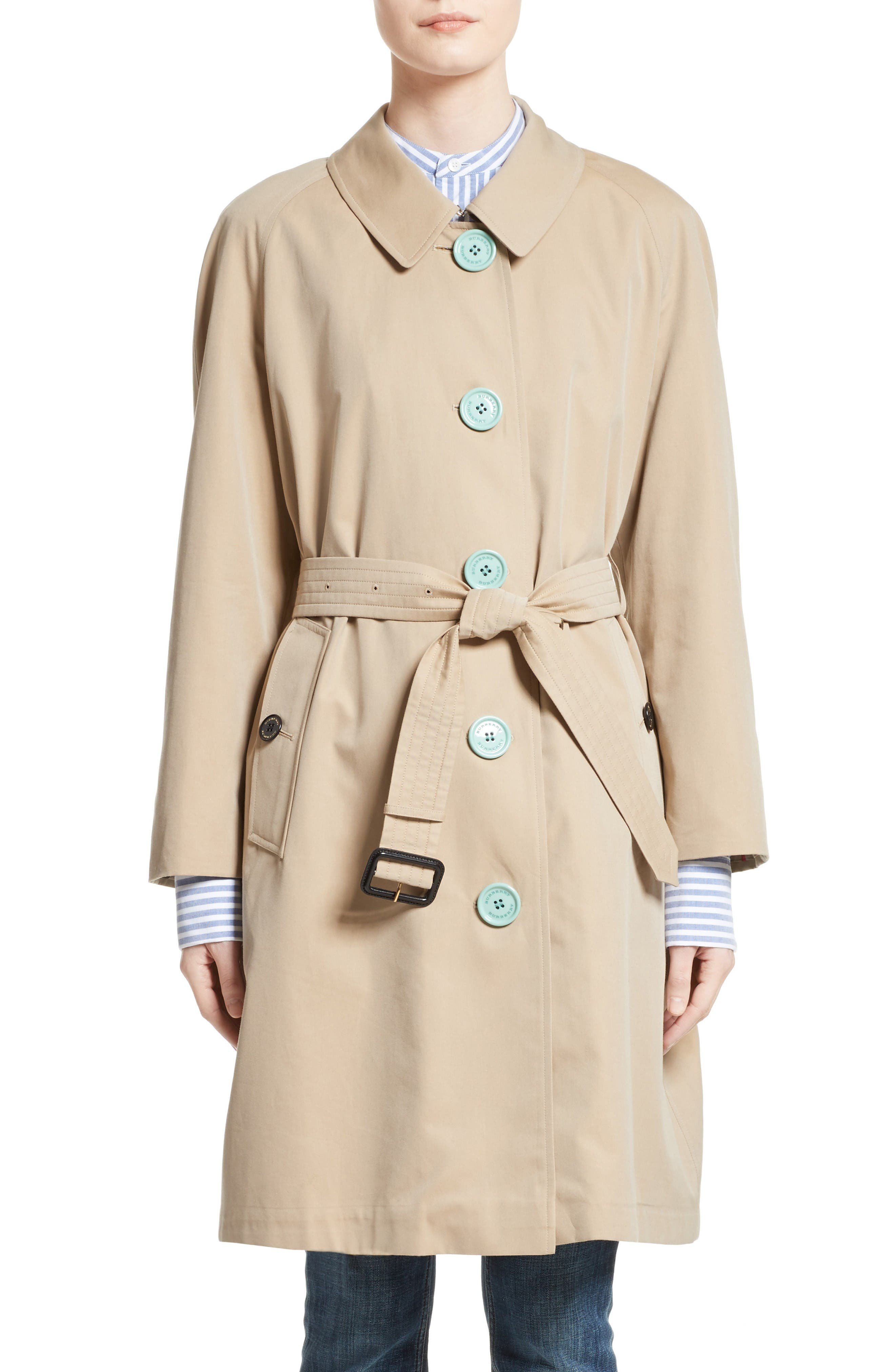 Brinkhill Trench Coat,                         Main,                         color, Honey