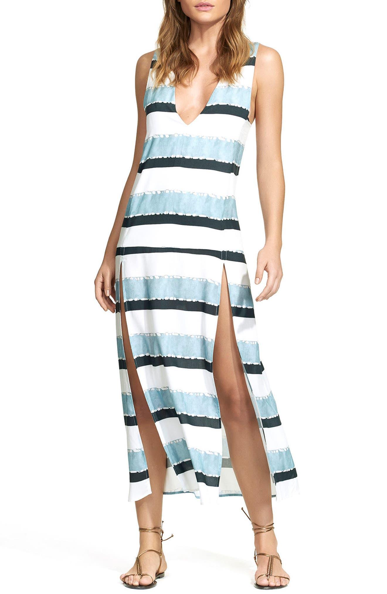 ViX Swimwear Sea Glass Siene Cover-Up Dress