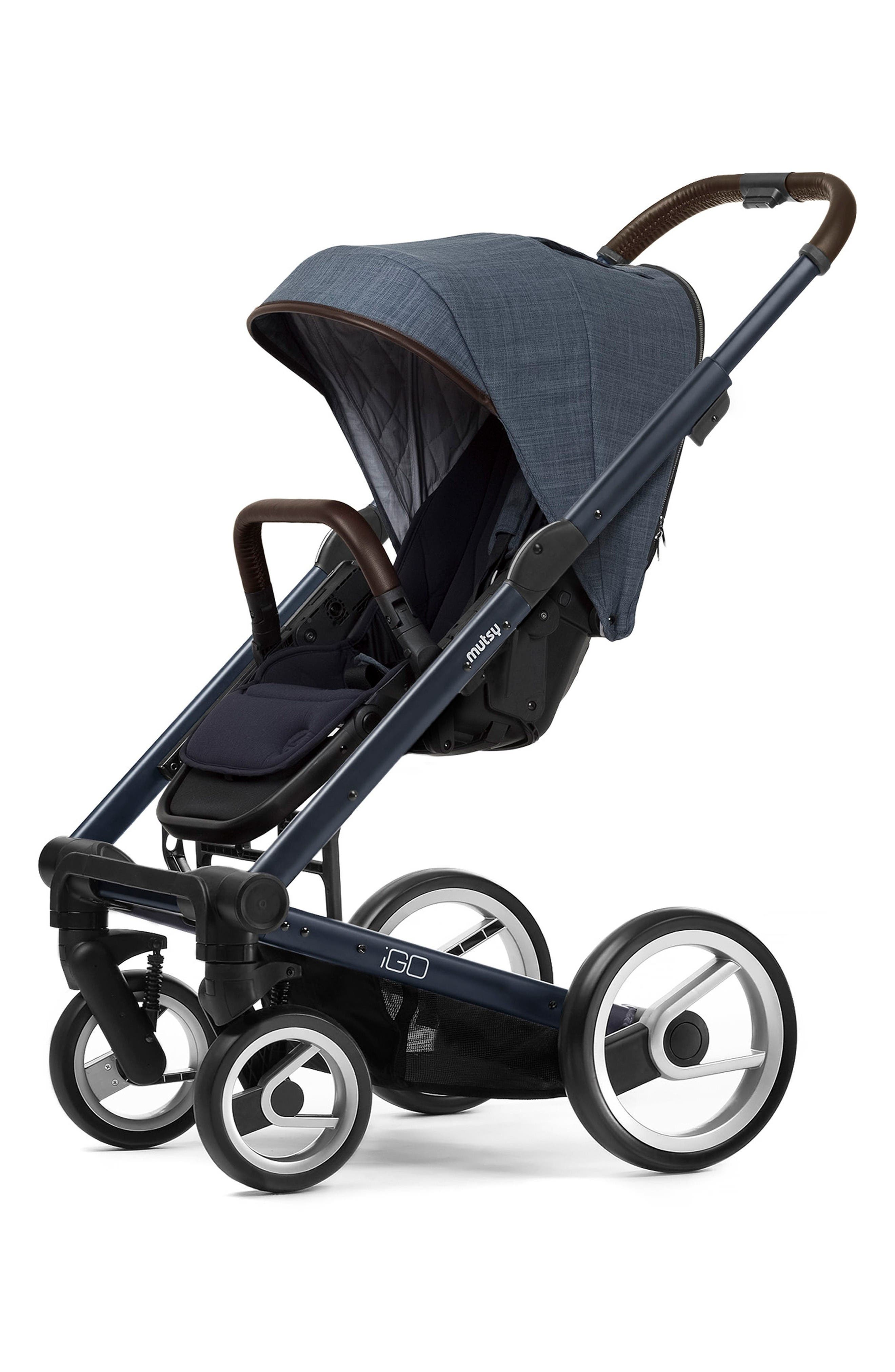 Igo - Farmer Earth Stroller,                         Main,                         color, Blue/ Blue