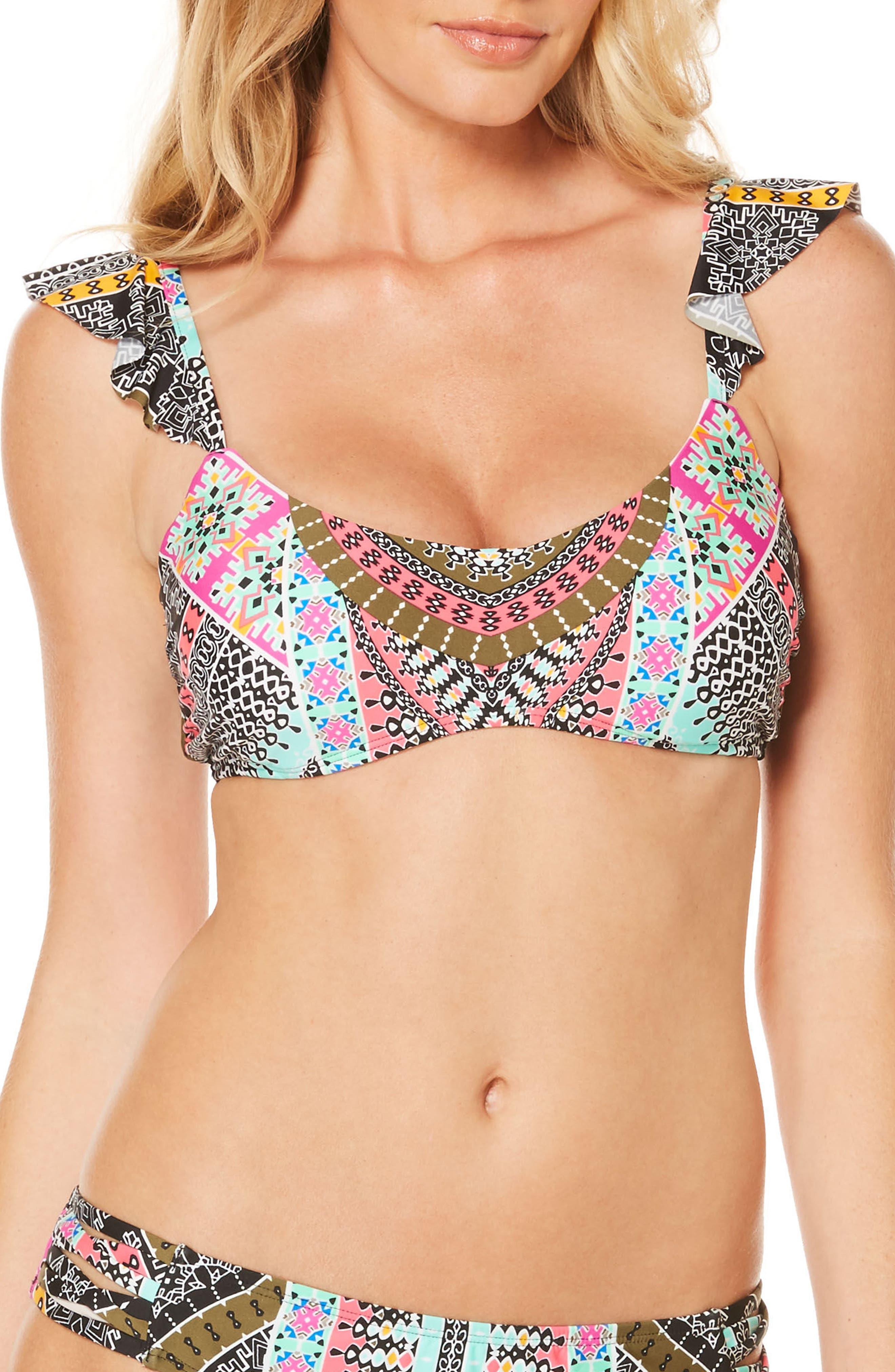 Laundry by Shelli Segal Underwire Bikini Top