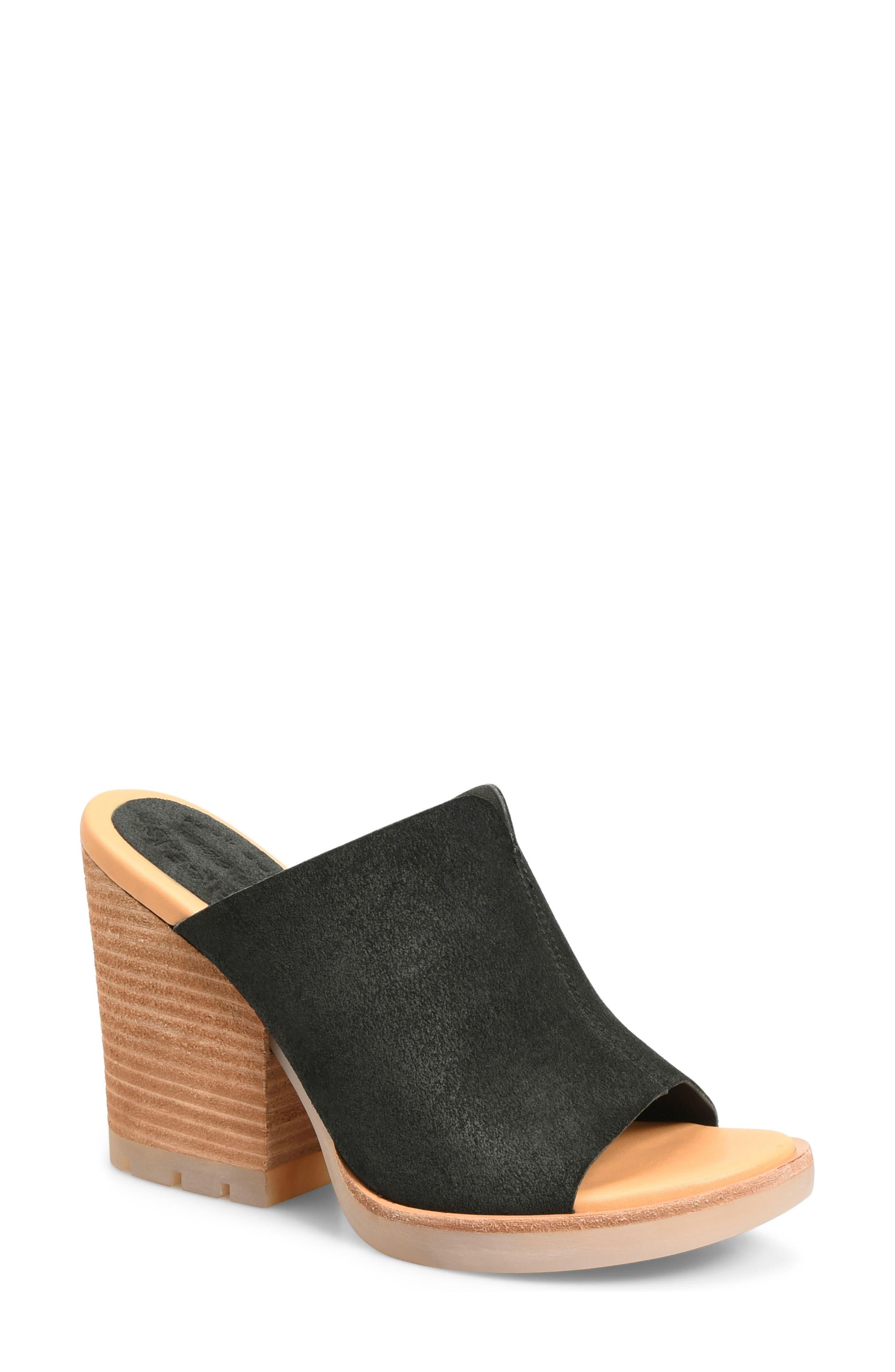 Lawton Sandal,                         Main,                         color, Black Suede