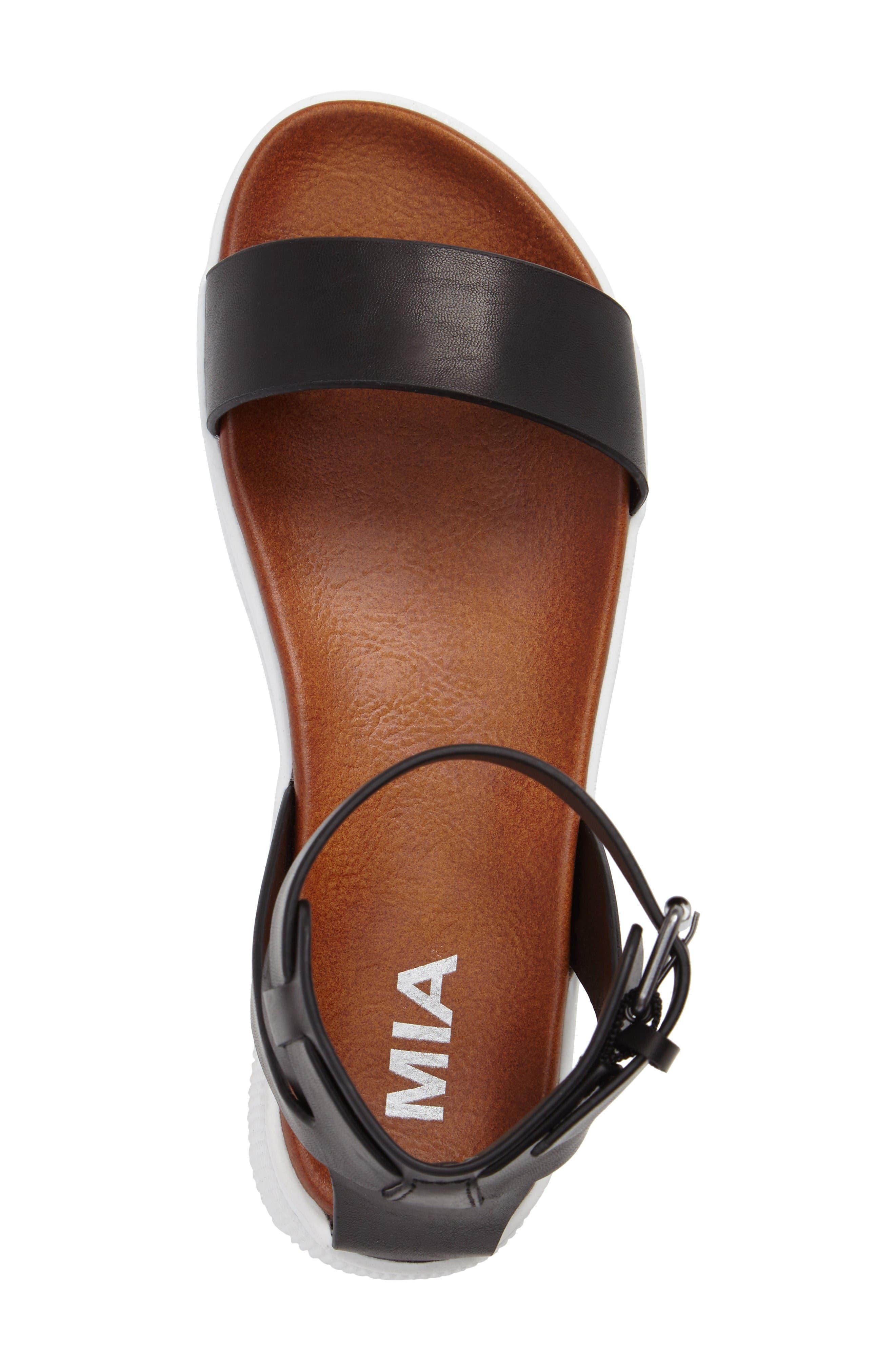 Alternate Image 5  - MIA Platform Sandal (Women)