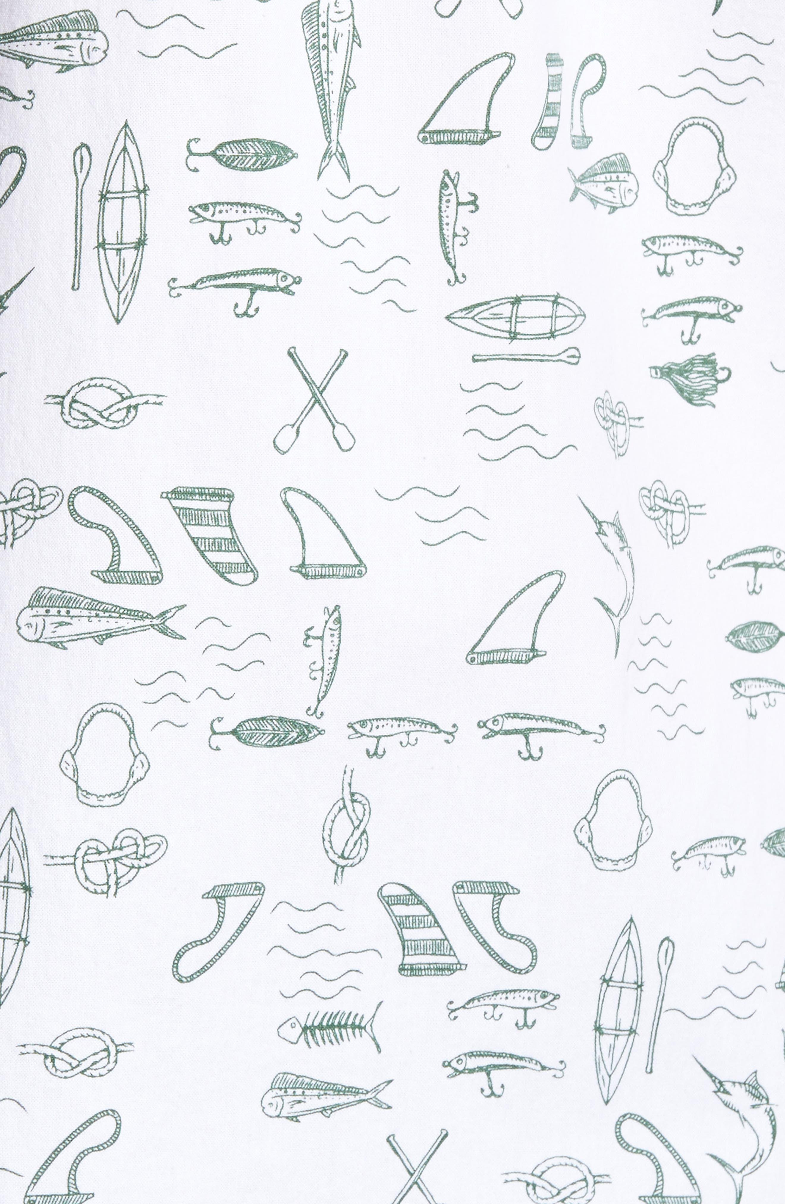 Alternate Image 5  - Jack O'Neill Old Harbor Print Sport Shirt