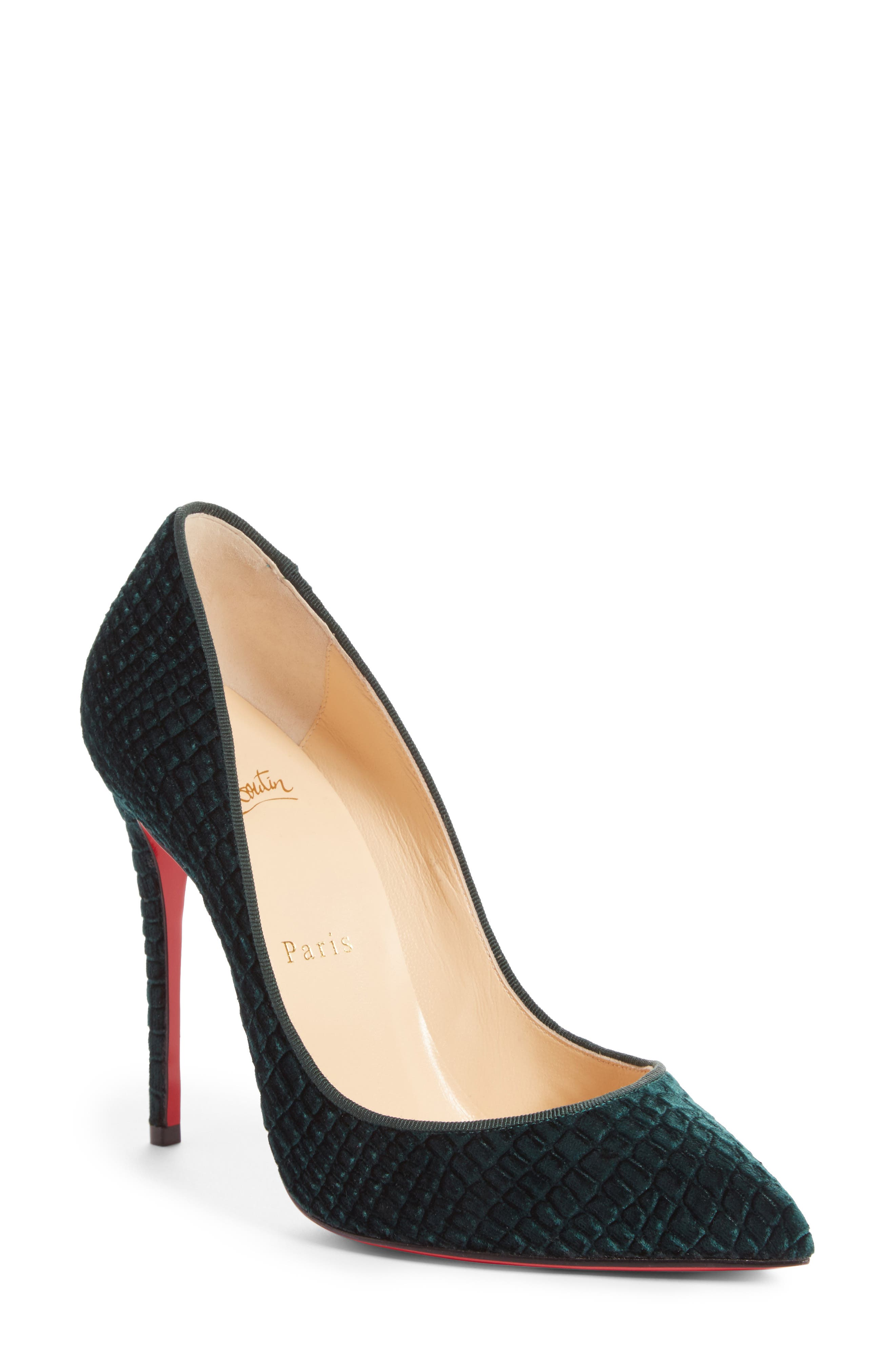 Alternate Image 1 Selected - Christian Louboutin Pigalle Follies Pointy Toe Pump (Women)