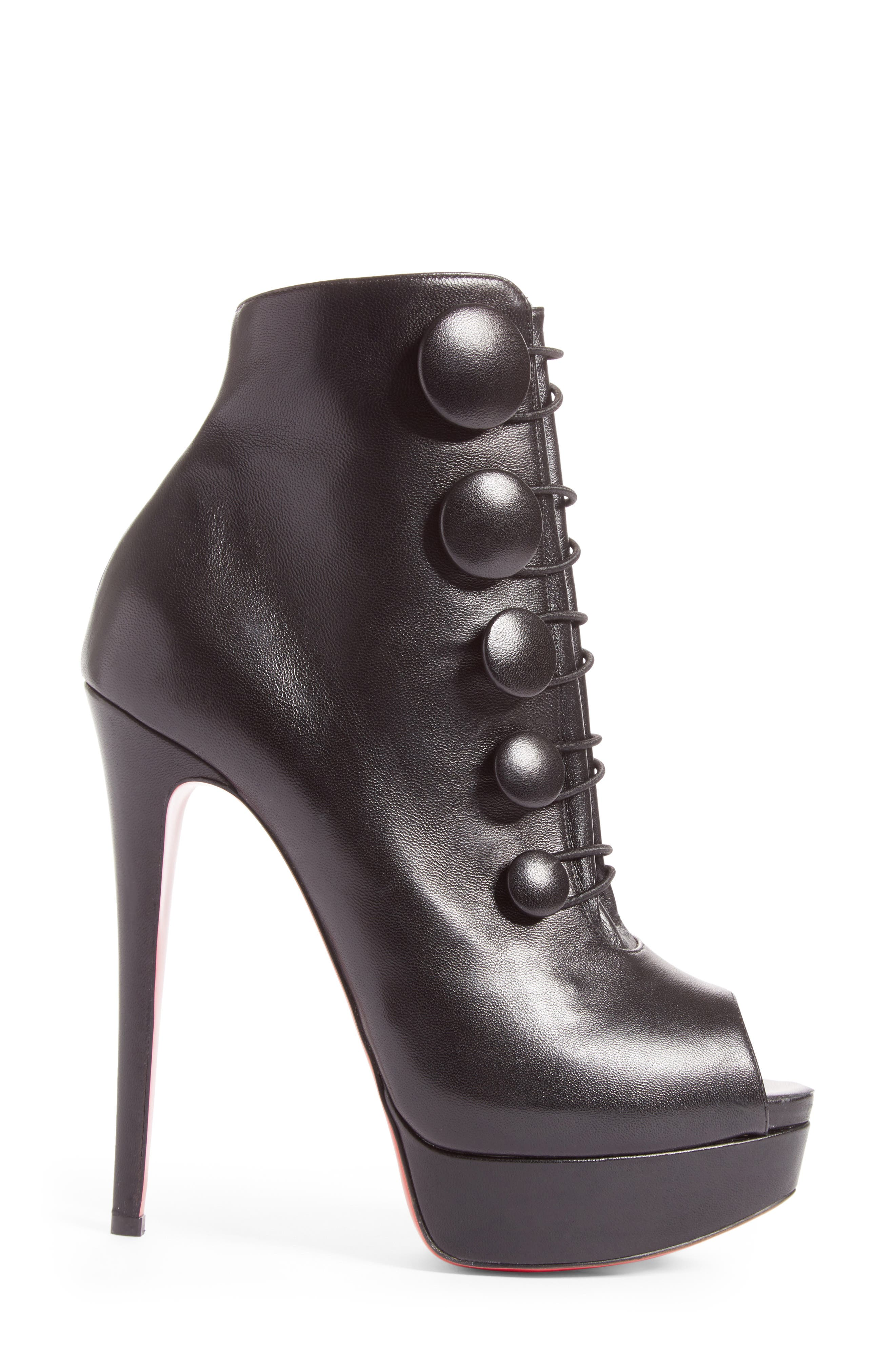 Alternate Image 4  - Christian Louboutin Lady Booton Bootie (Women)