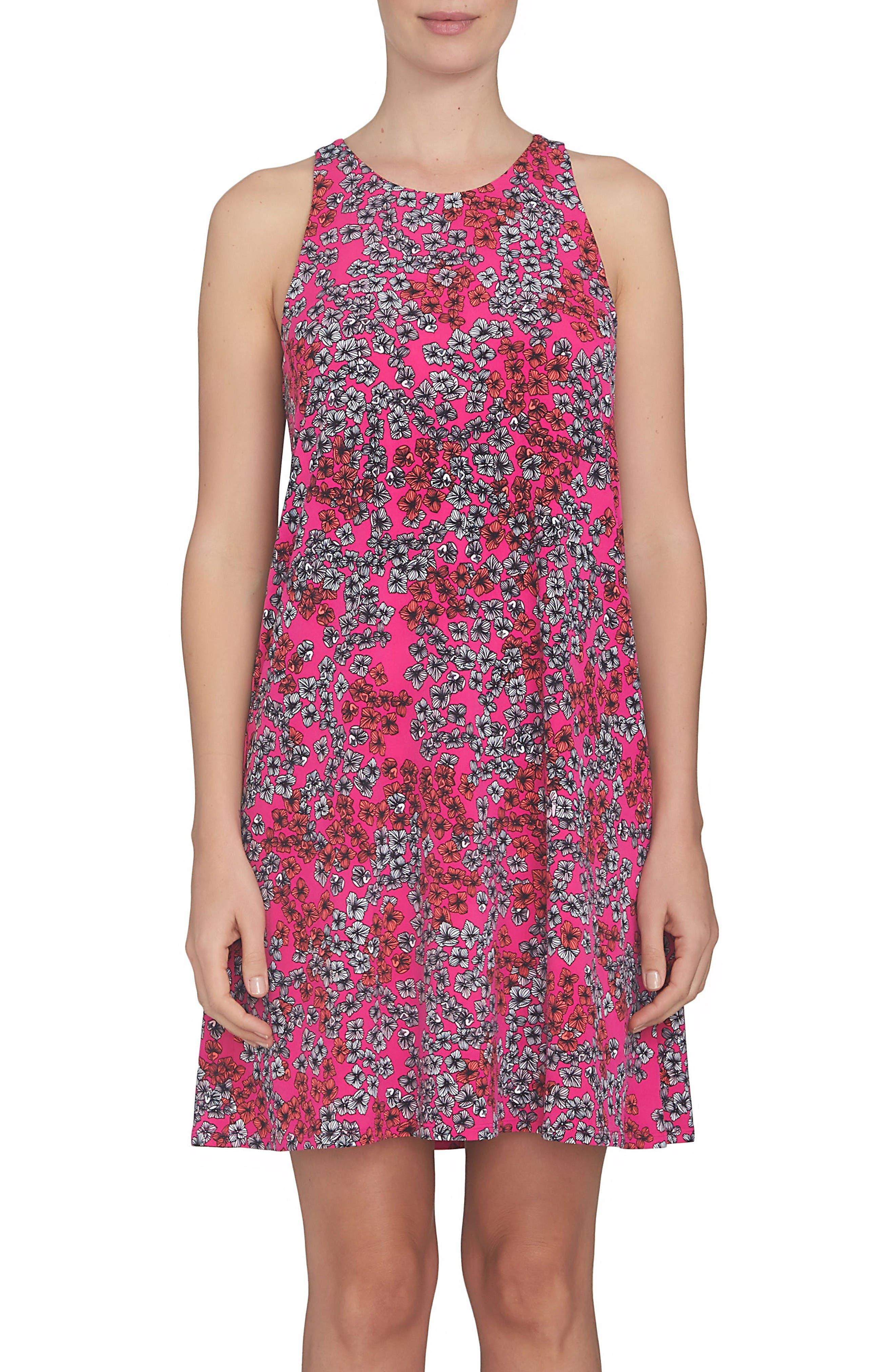 Alternate Image 1 Selected - CeCe A-Line Shift Dress