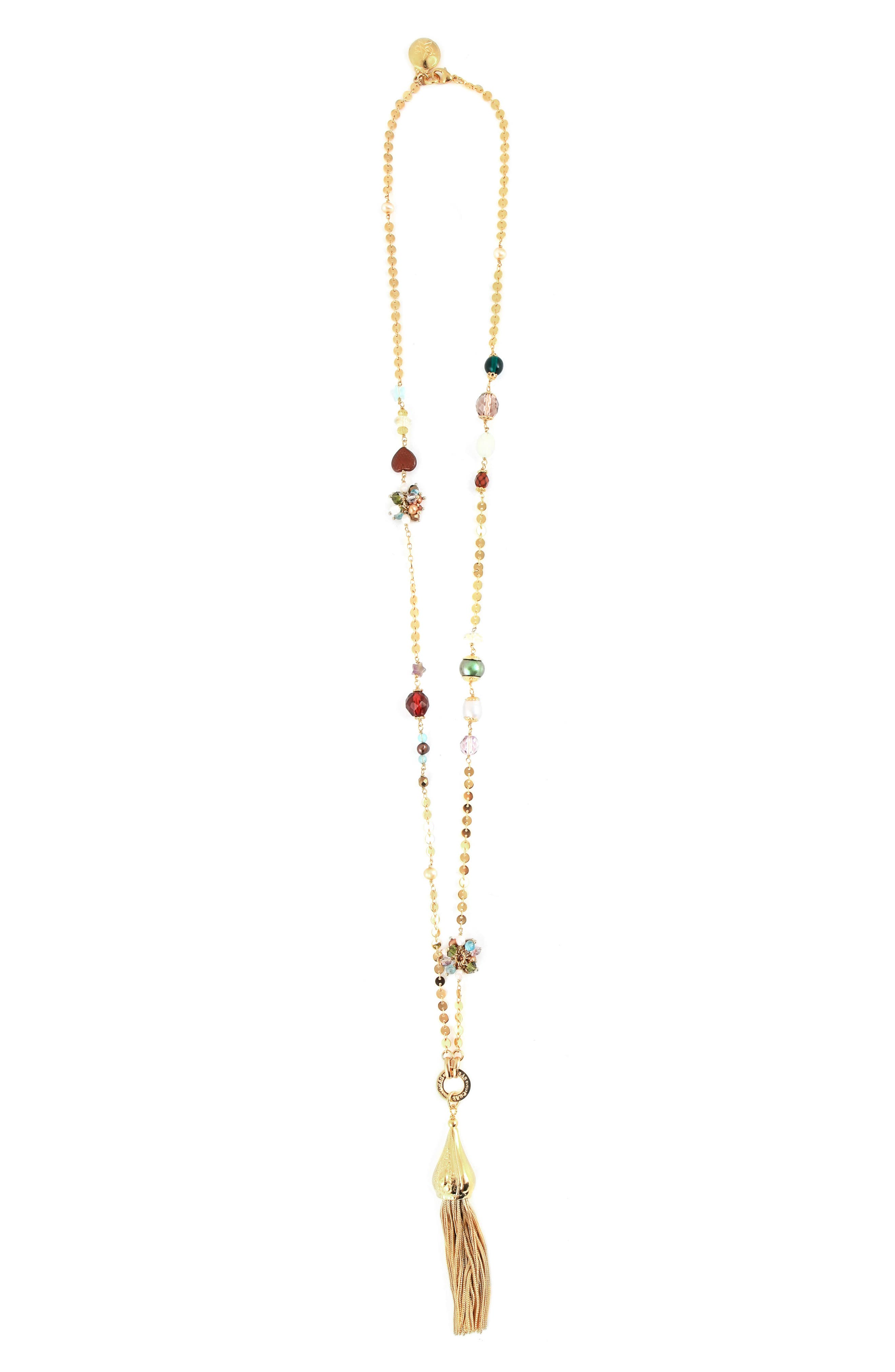 GAS BIJOUX Pompom Tassel Necklace