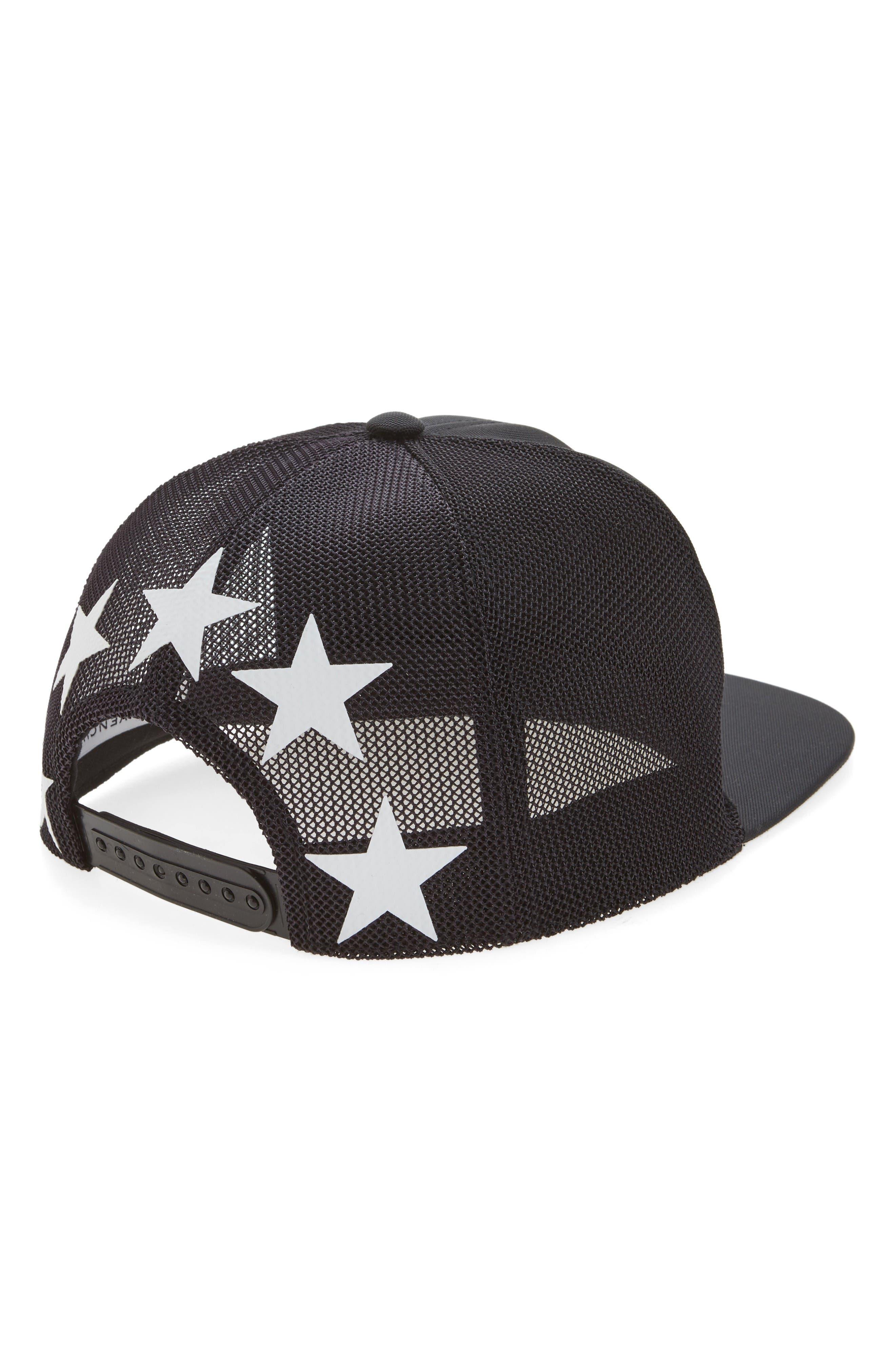 Alternate Image 2  - Givenchy Stars Mesh & Canvas Baseball Cap