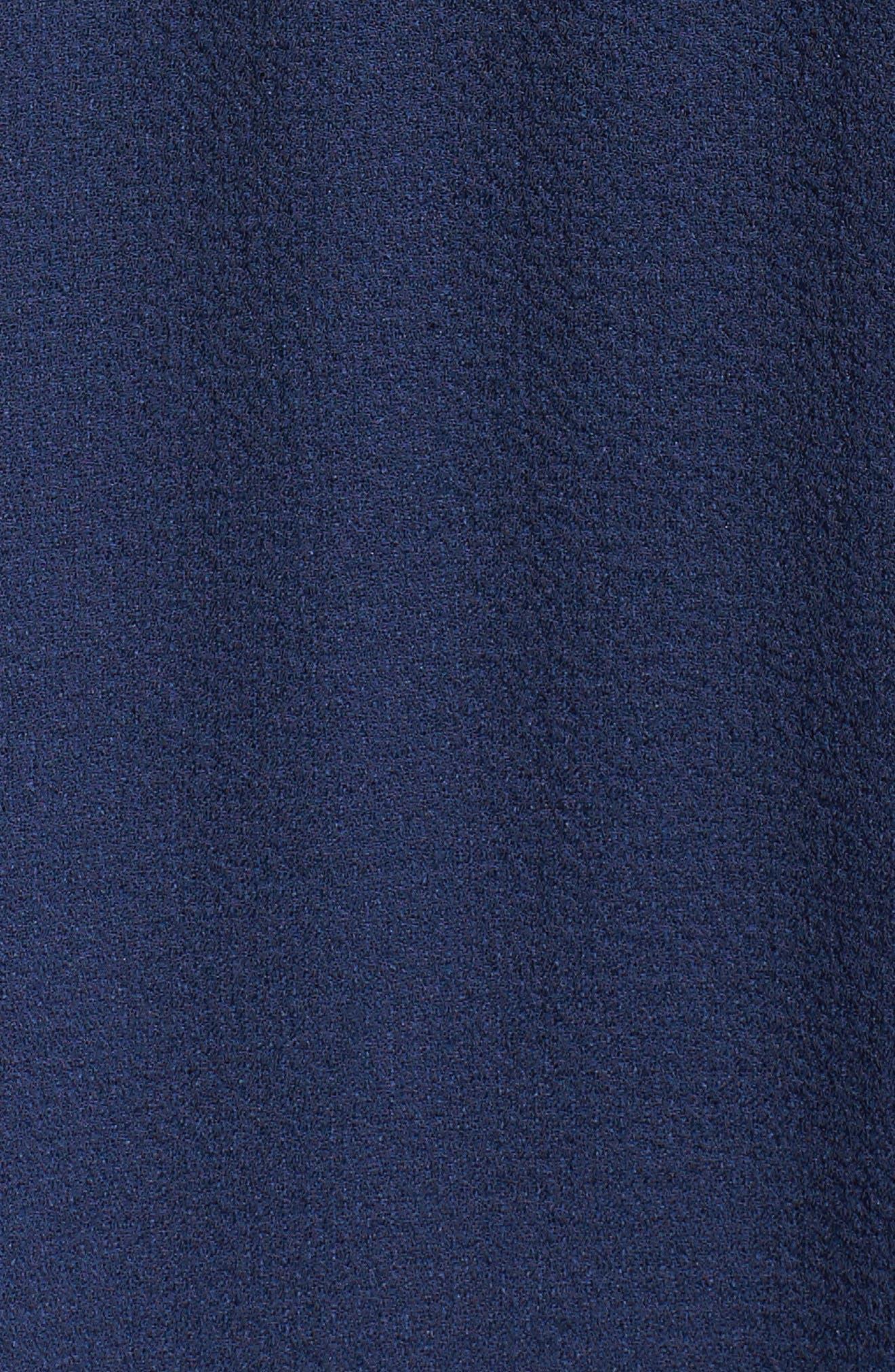 Alternate Image 5  - Maggy London Cold Shoulder Midi Dress (Regular & Petite)