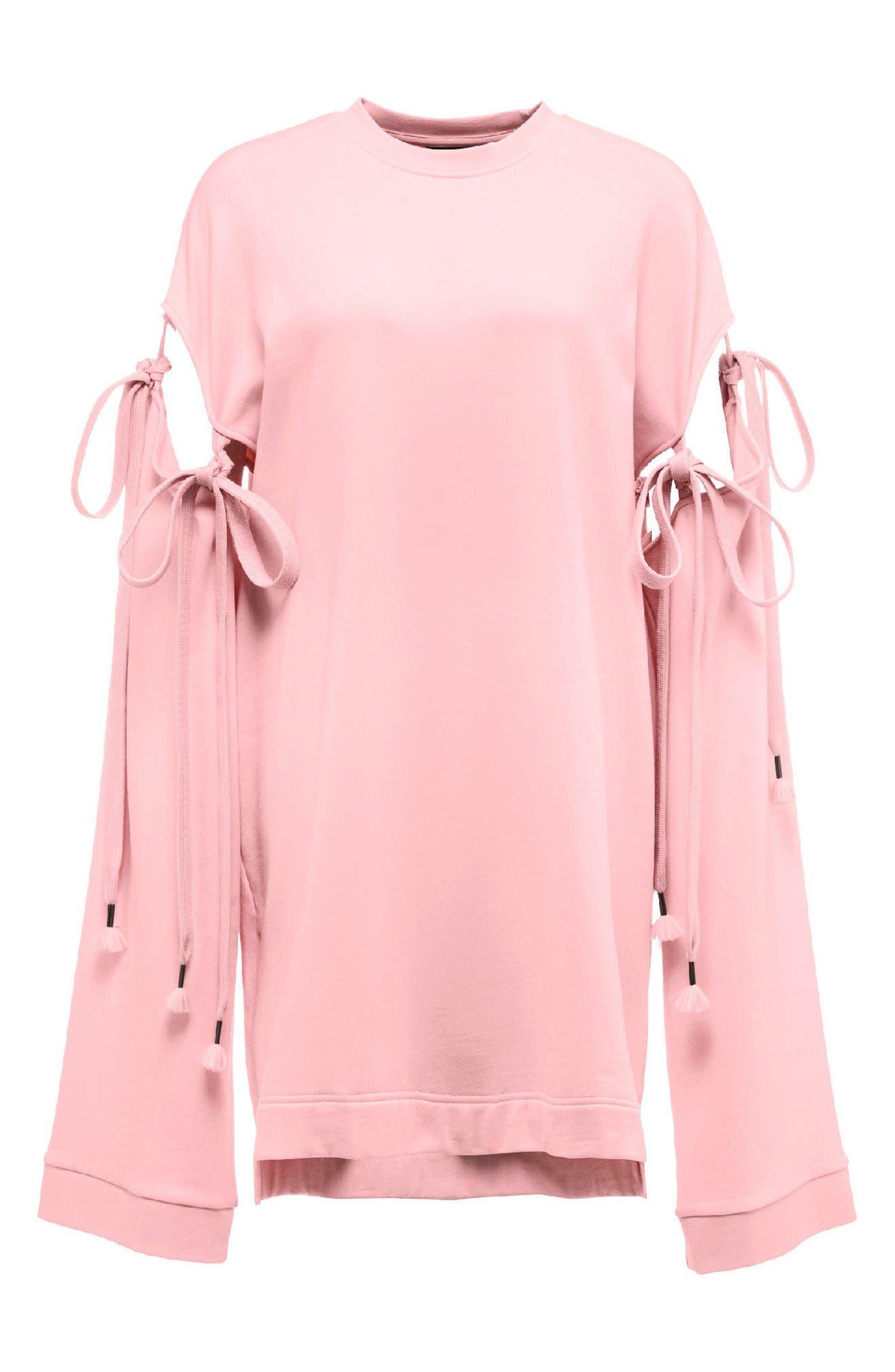 Alternate Image 4  - FENTY PUMA by Rihanna Oversize Convertible Sleeve Sweatshirt