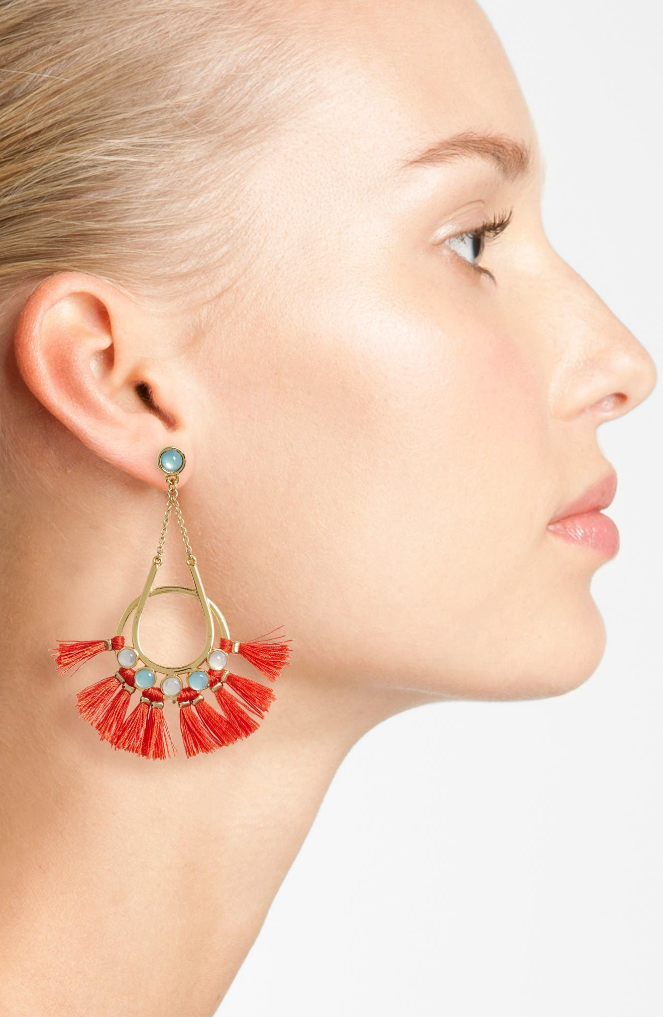 Alternate Image 2  - Rebecca Minkoff Utopia Tassel Chandelier Earrings