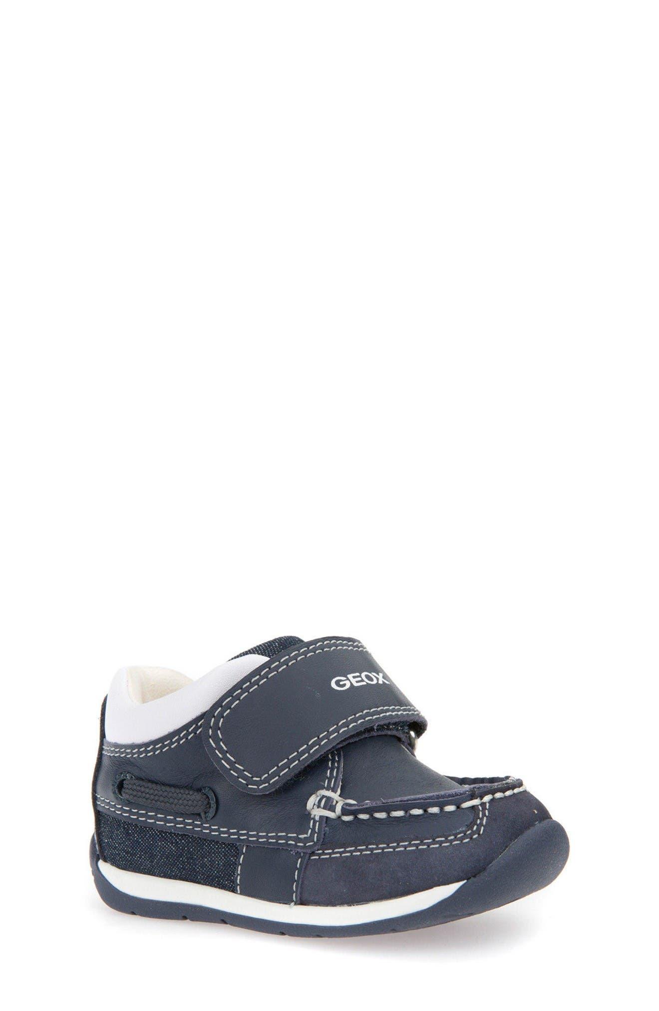 Main Image - Geox Beach Sneaker (Baby, Walker & Toddler)