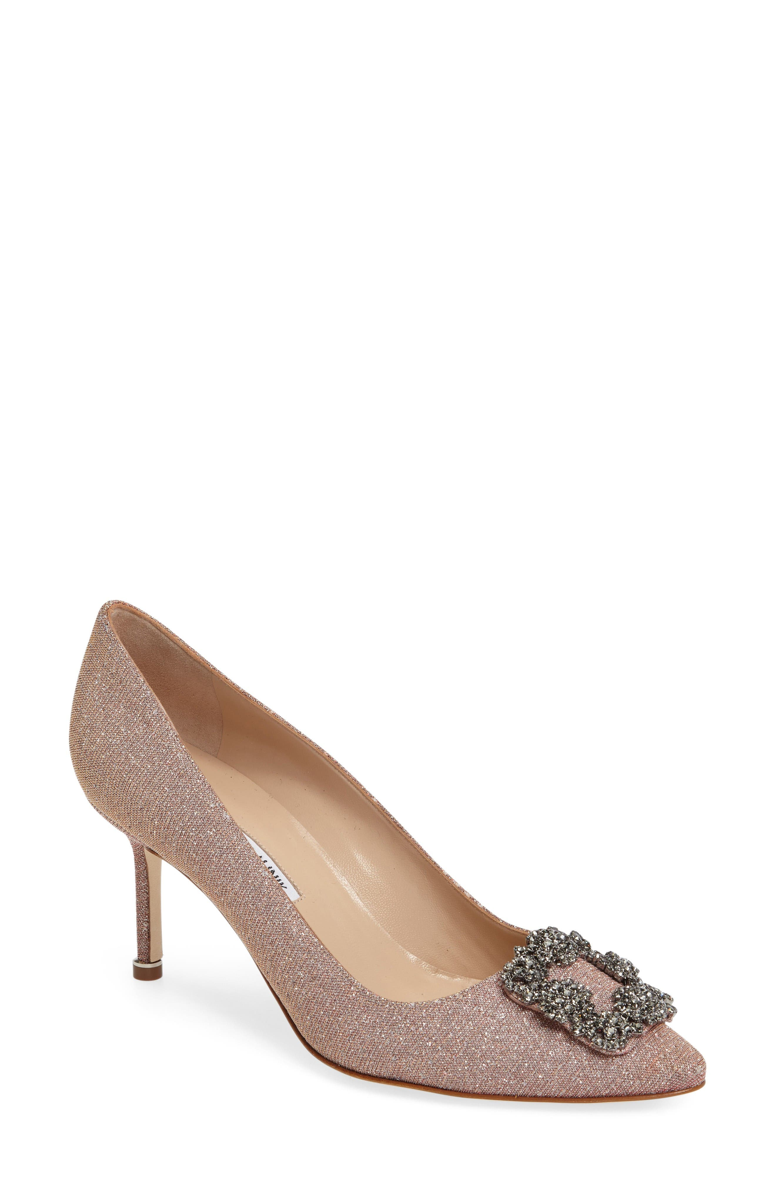 Hangisi Pump,                         Main,                         color, Champagne Fabric
