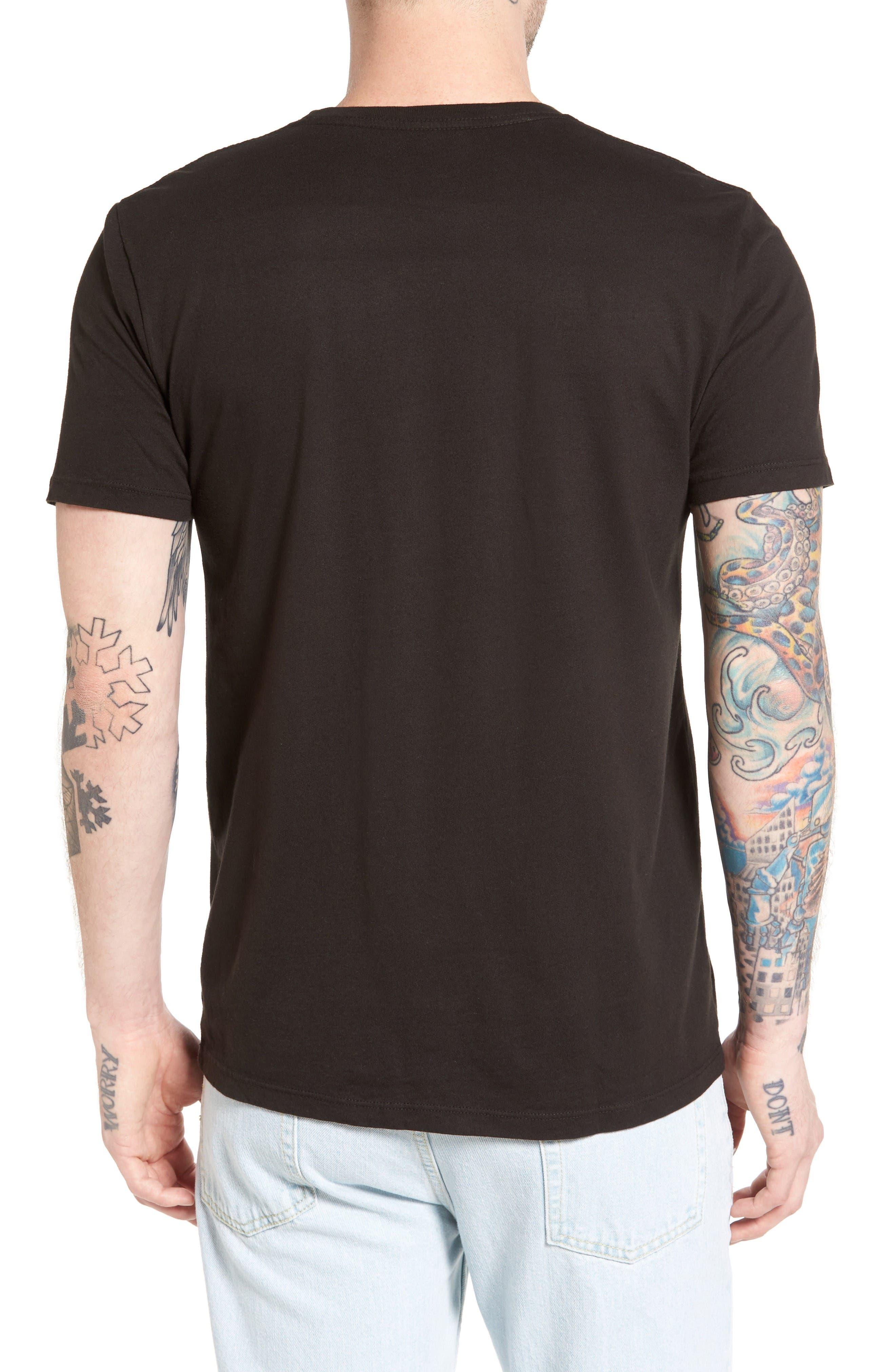 Beach Trippin' Graphic T-Shirt,                             Alternate thumbnail 2, color,                             Graphite