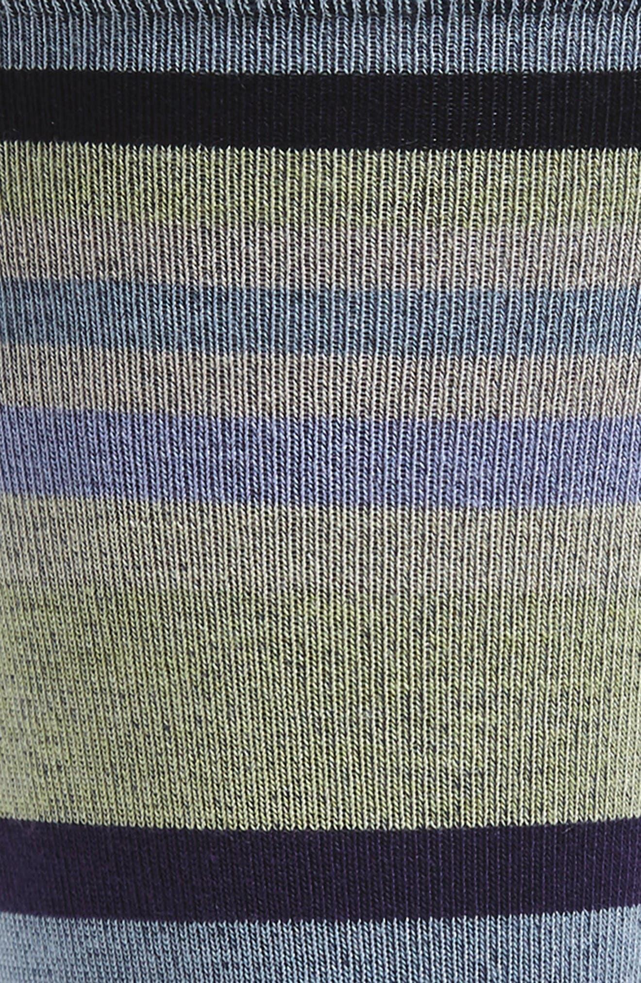 Reserve Worth Socks,                             Alternate thumbnail 2, color,                             Purple/ Black