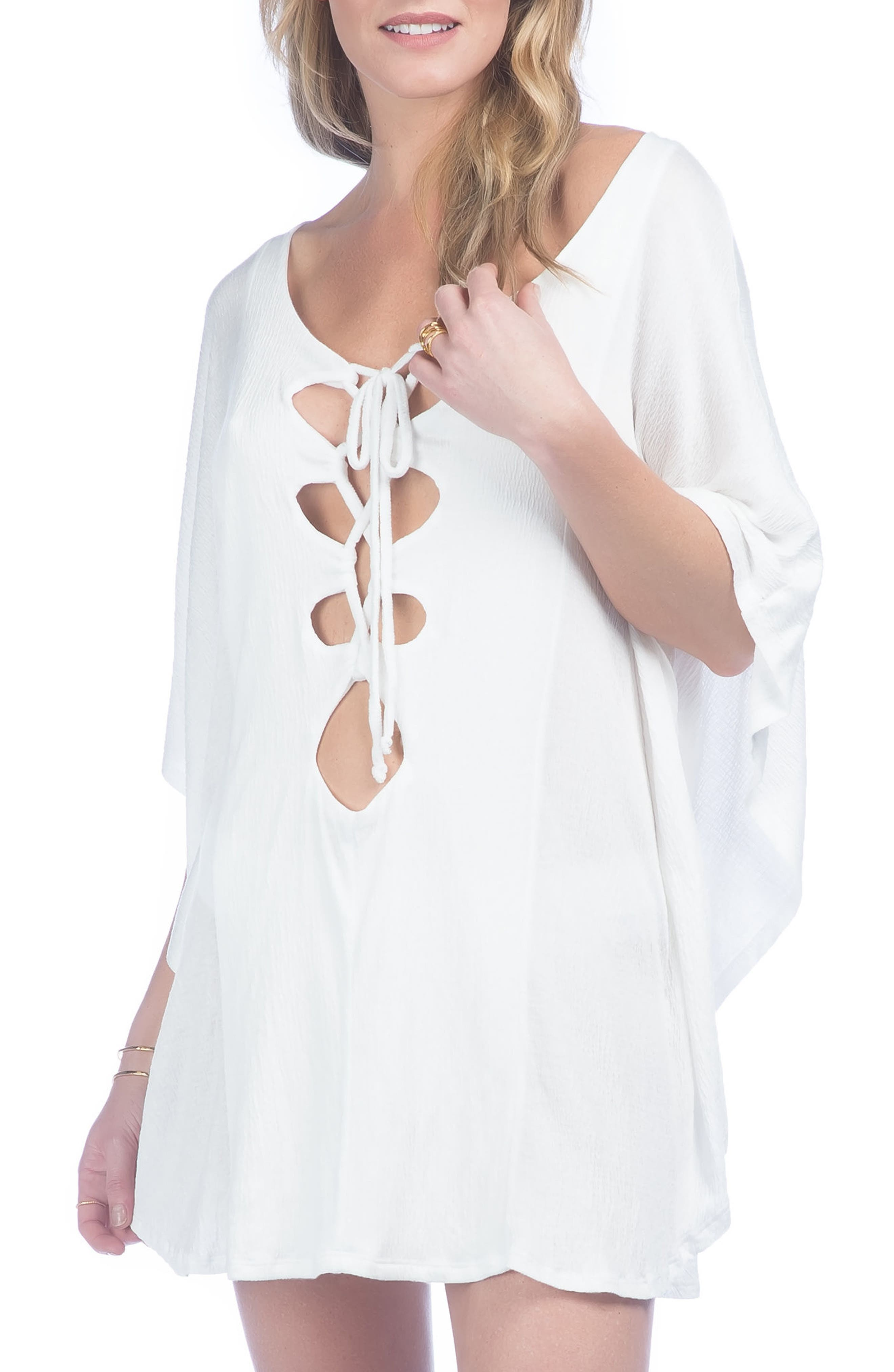 Green Dragon Cover-Up Tunic