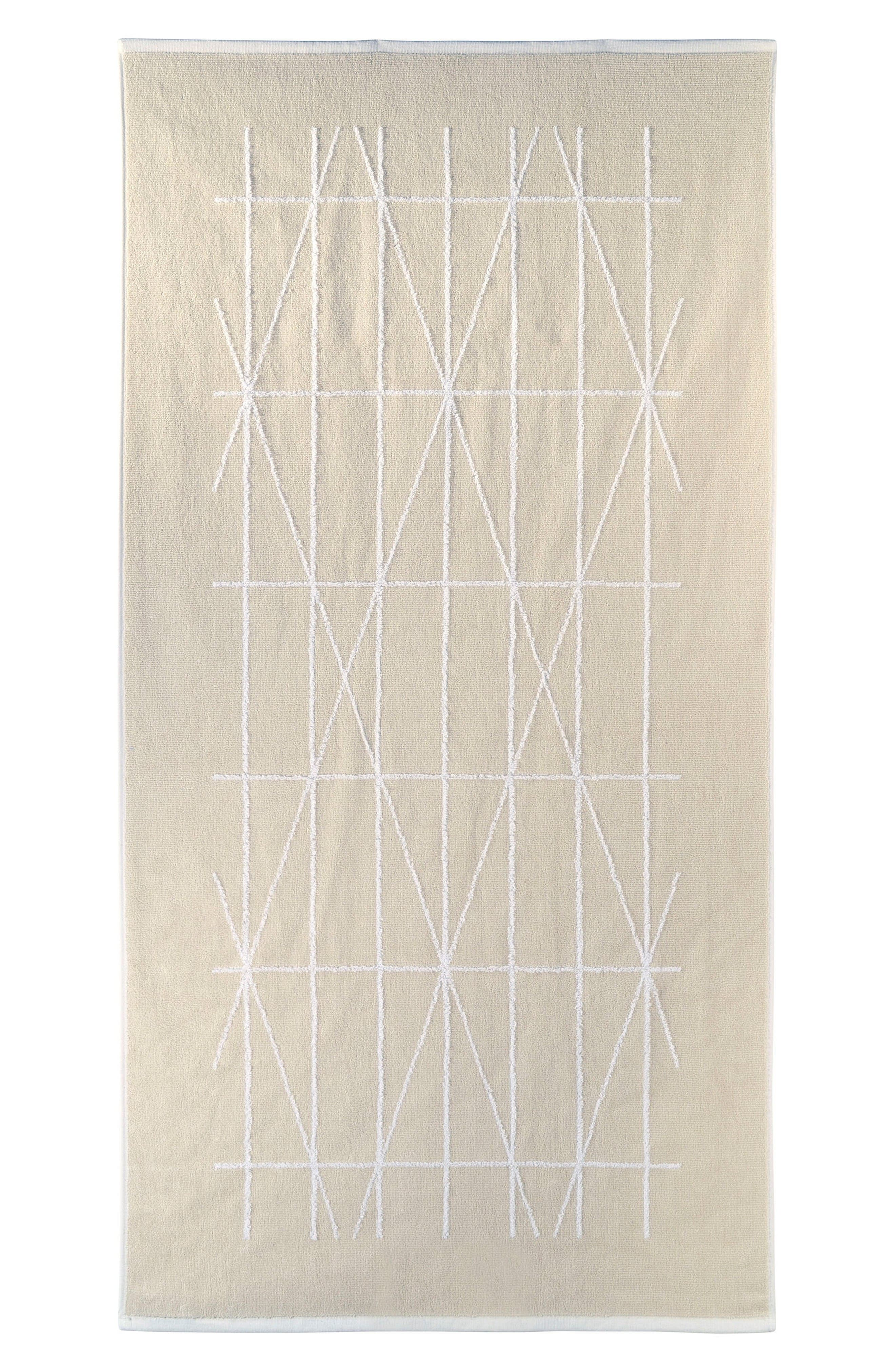 Alternate Image 1 Selected - DKNY Geometrix Hand Towel