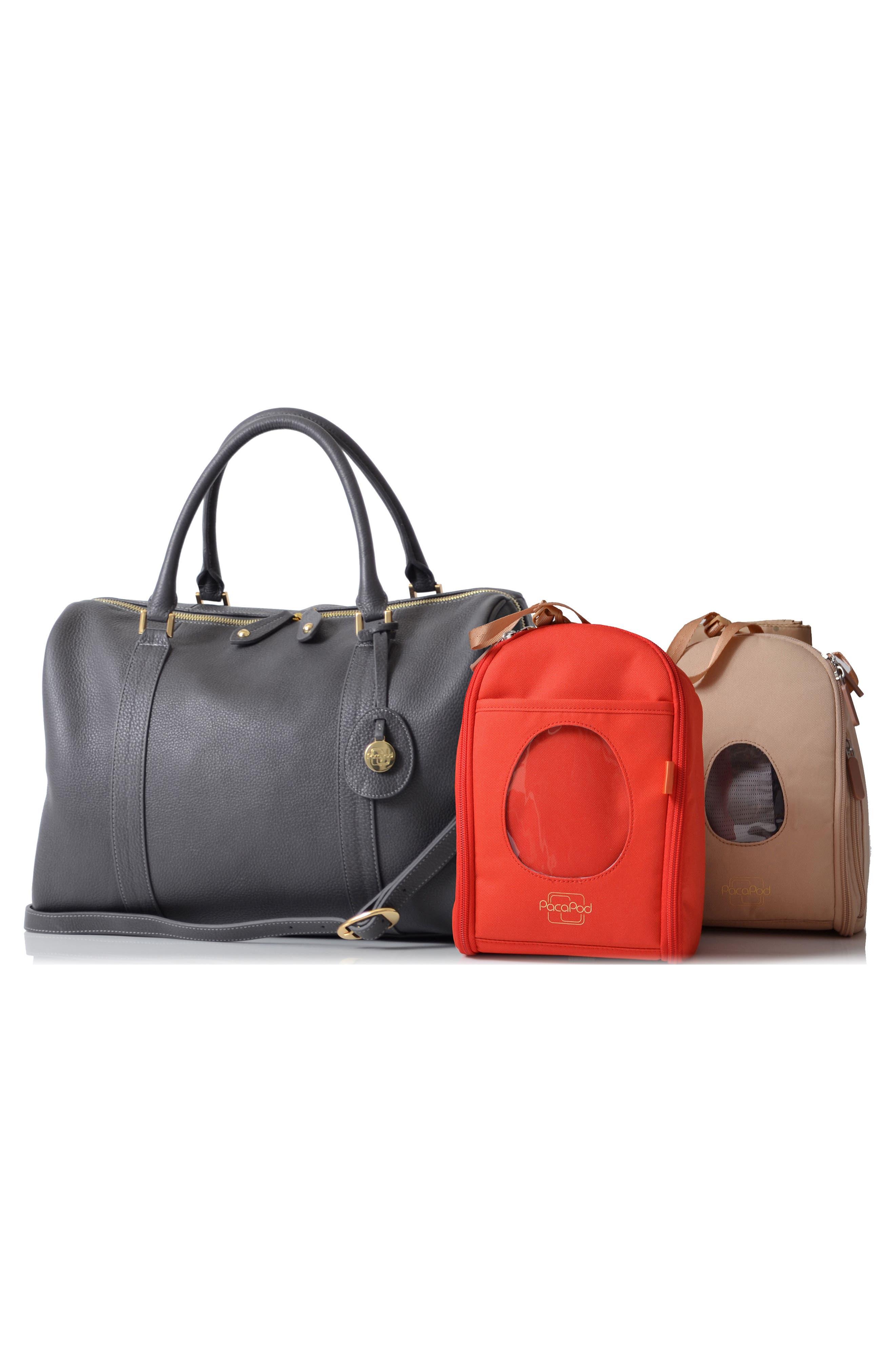 Alternate Image 2  - PacaPod 'Firenze' Leather Diaper Bag