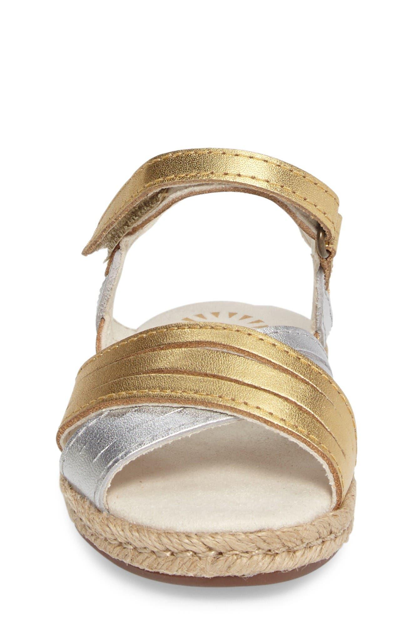 Alternate Image 4  - UGG® Addilyn Sandal (Walker & Toddler)