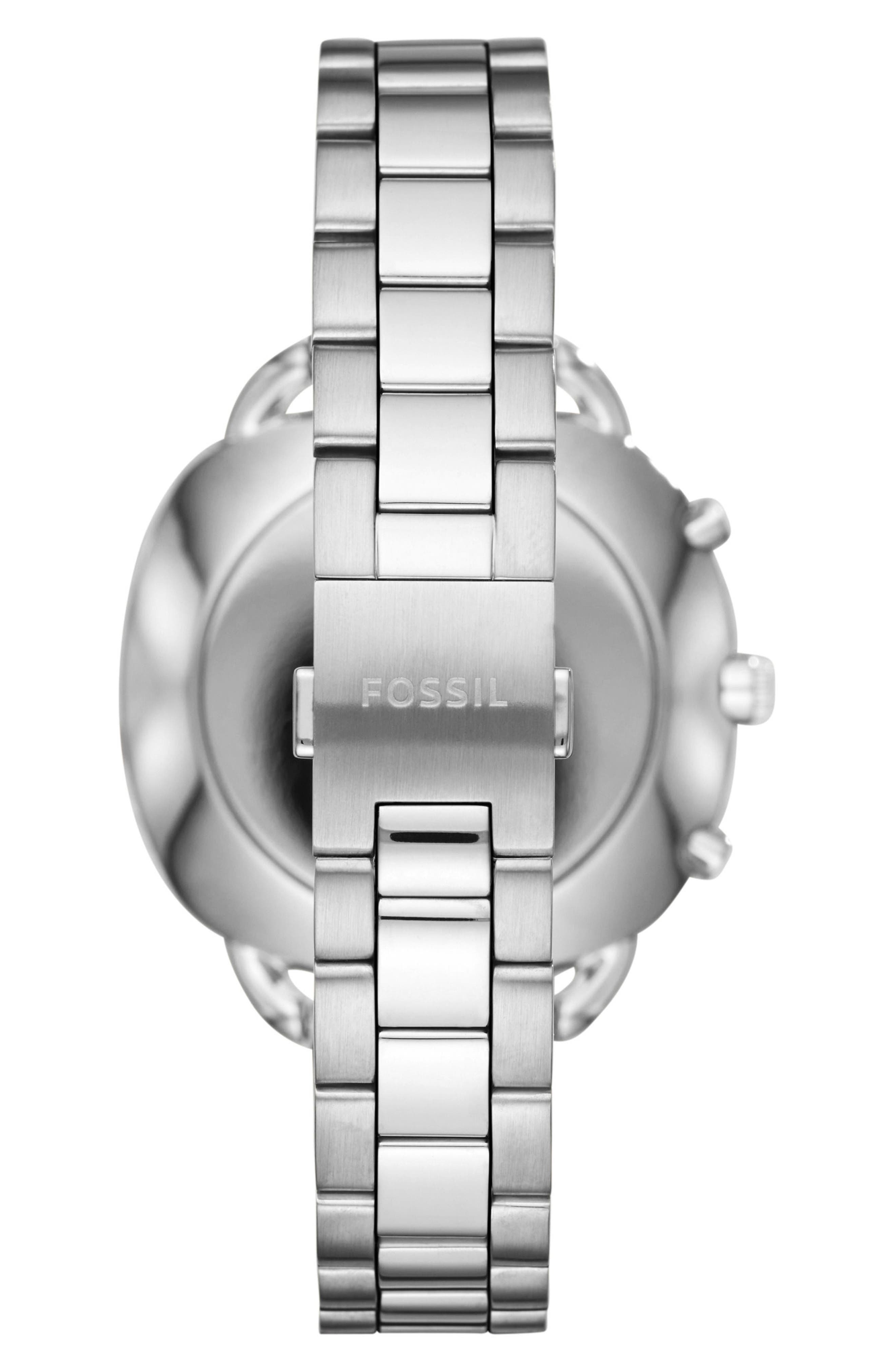 Alternate Image 2  - Fossil Q Accomplice Smart Bracelet Watch, 38mm