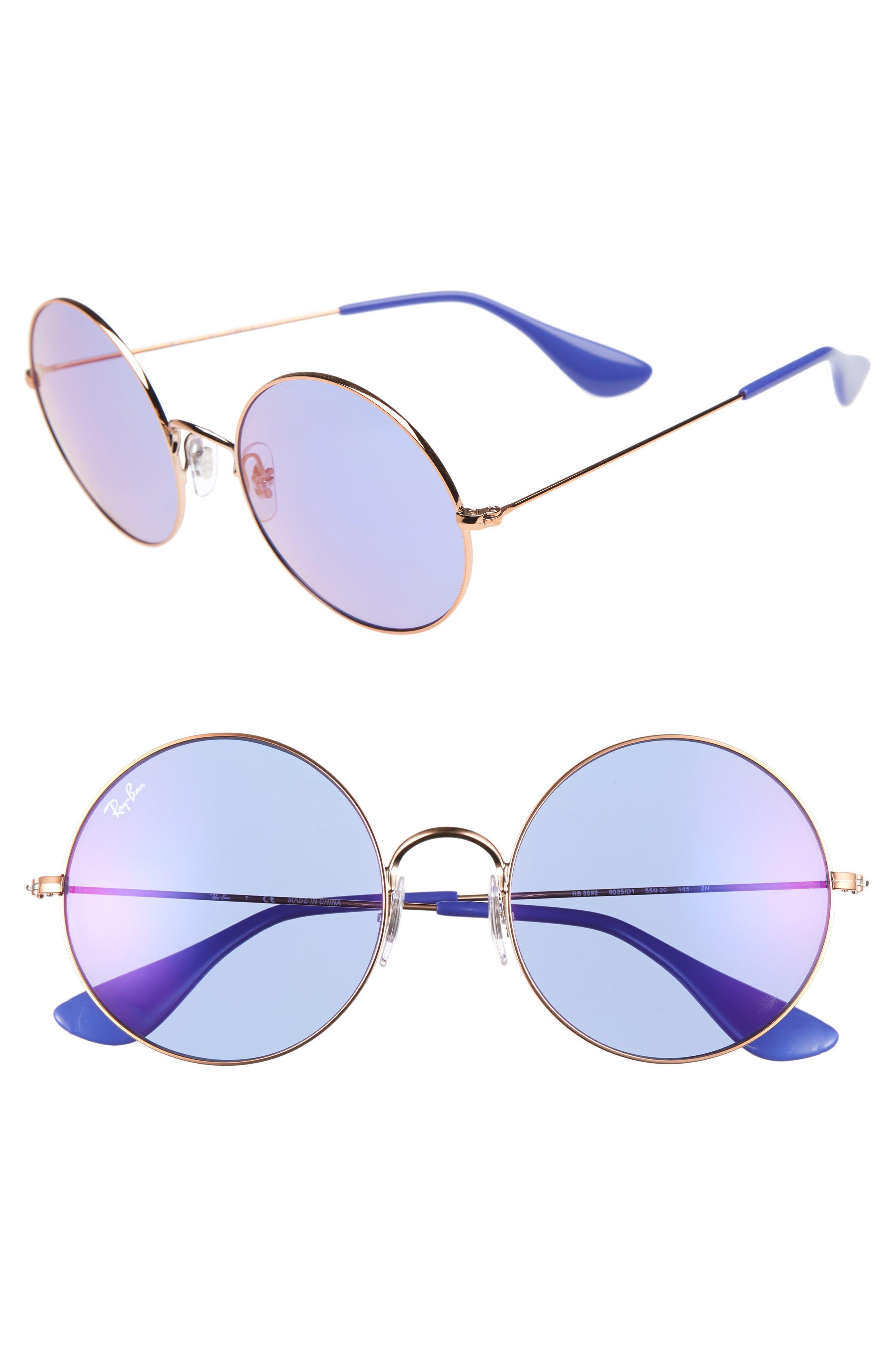Ray-Ban The Ja-Jo 54mm Round Sunglasses