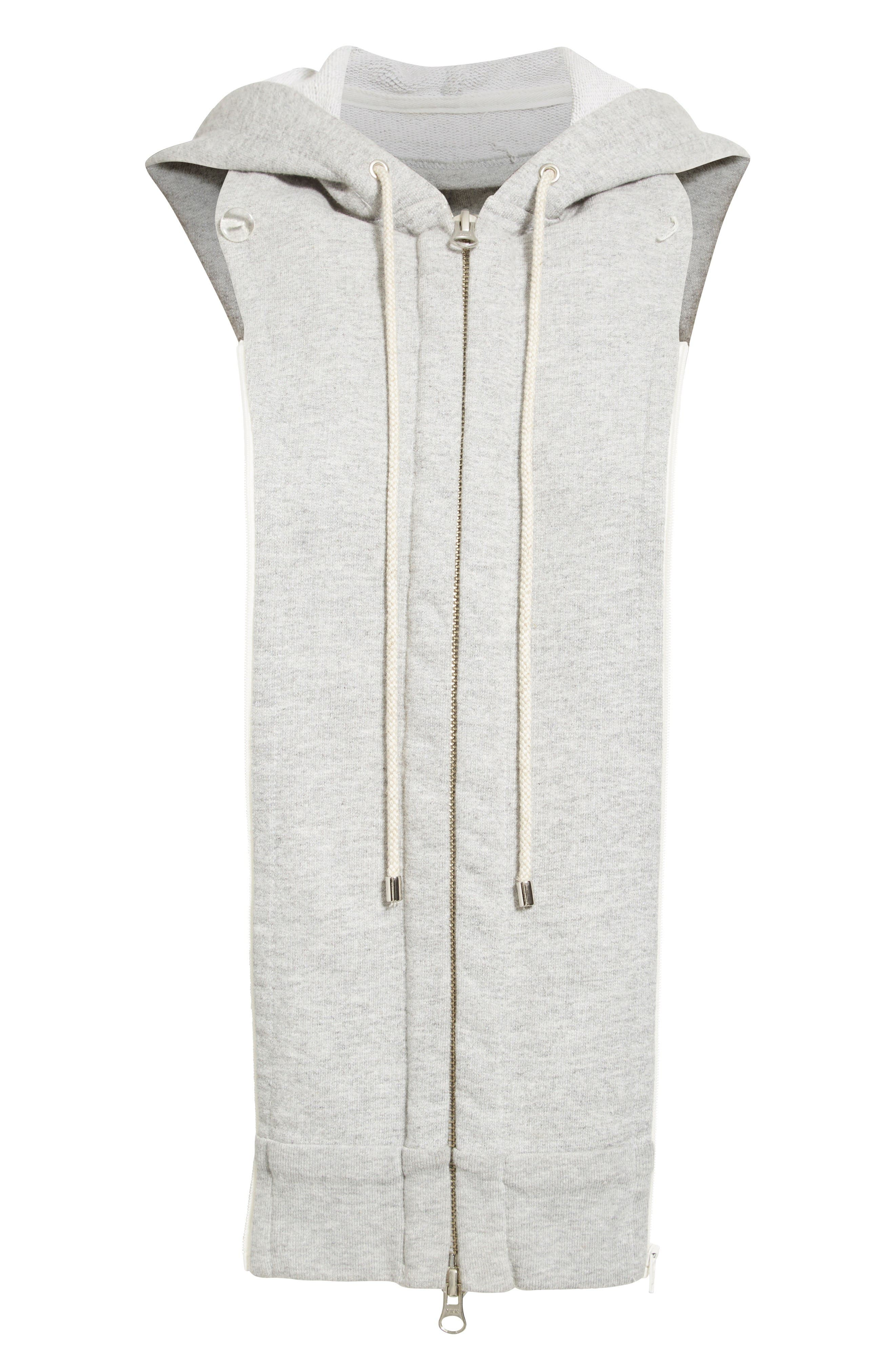 Hoodie Dickey,                         Main,                         color, Heather Grey