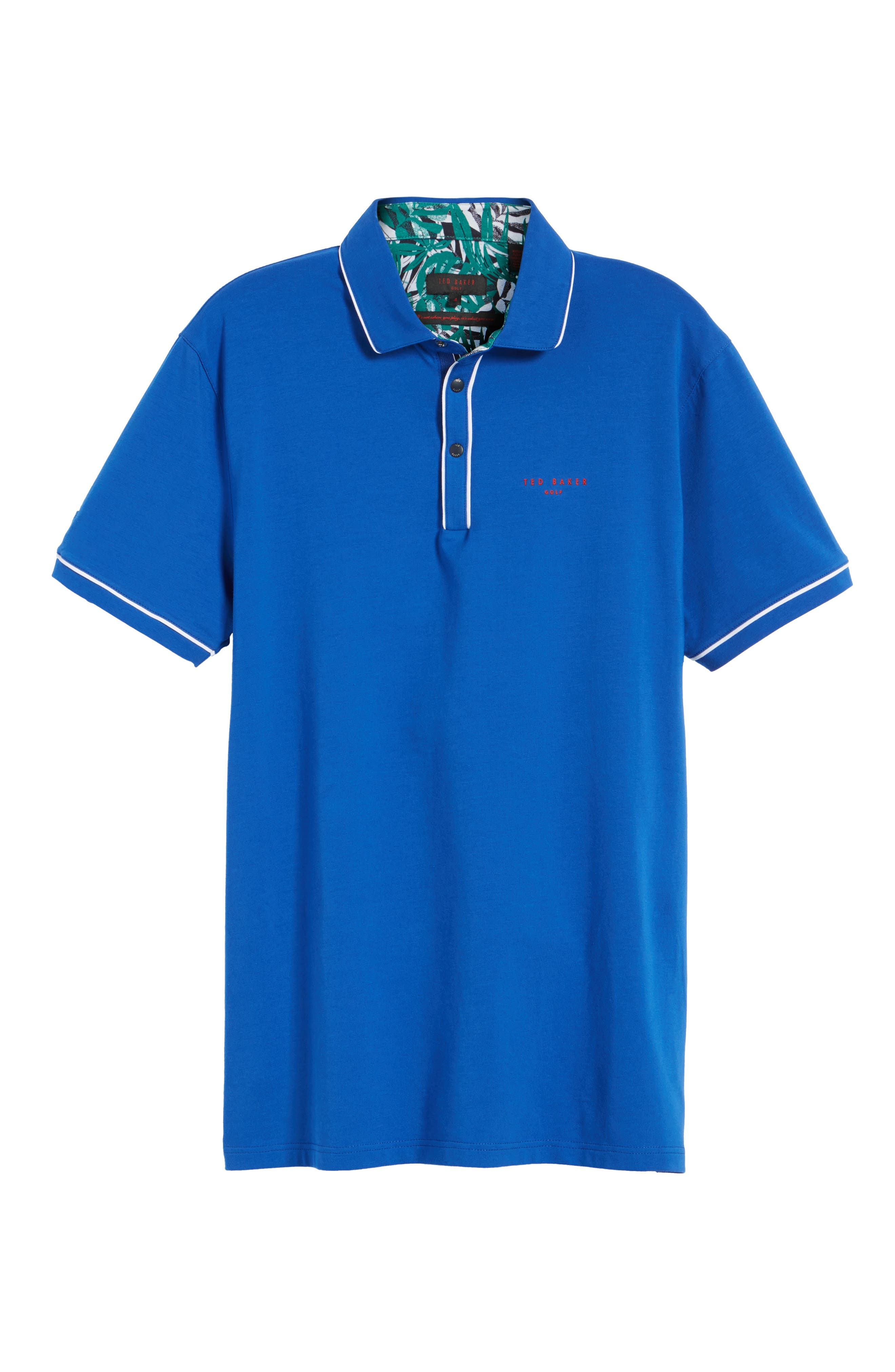 Alternate Image 5  - Ted Baker London Playgo Piped Trim Golf Polo