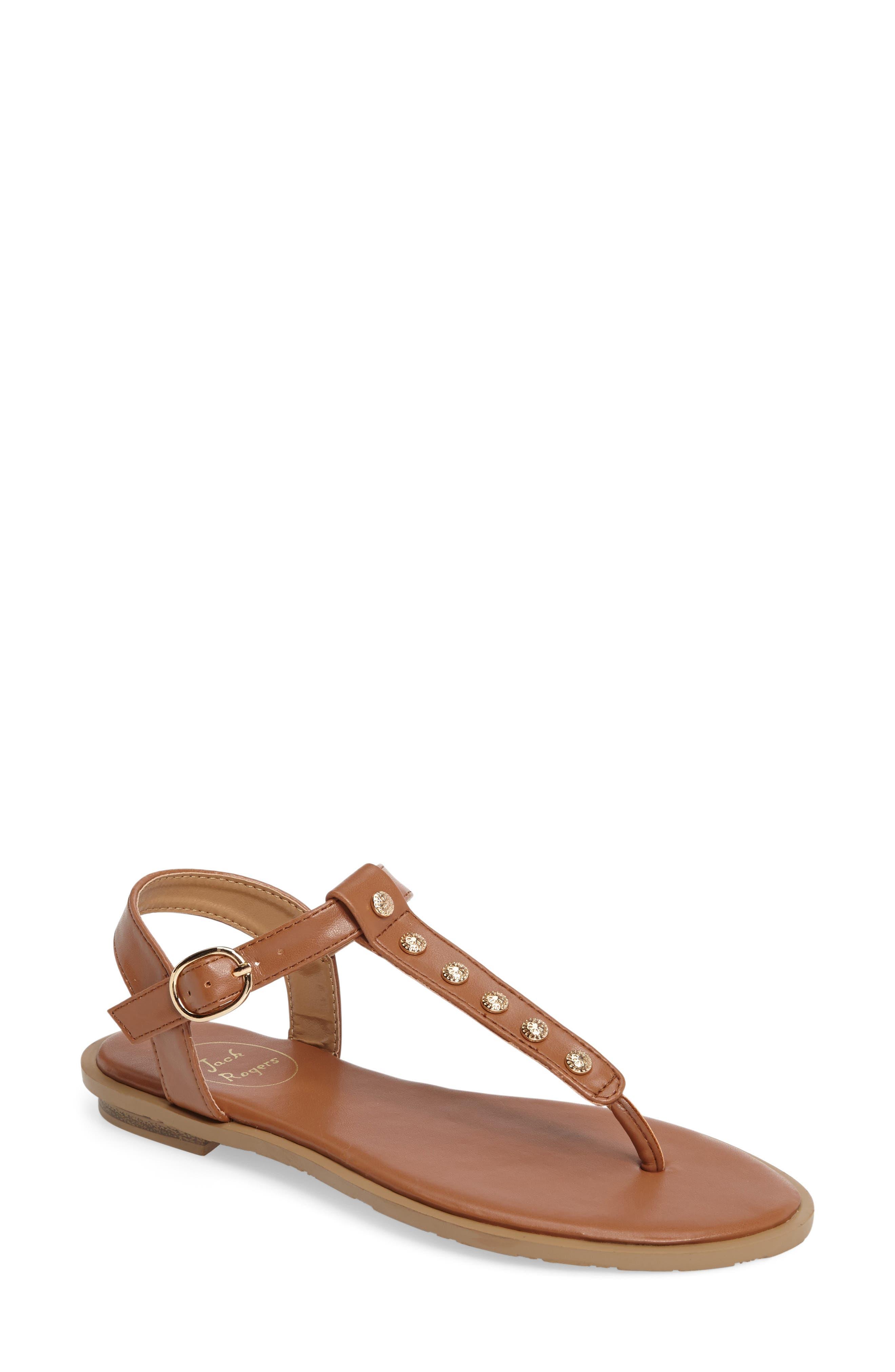 Alternate Image 1 Selected - Jack Rogers Kamri T-Strap Sandal (Women)