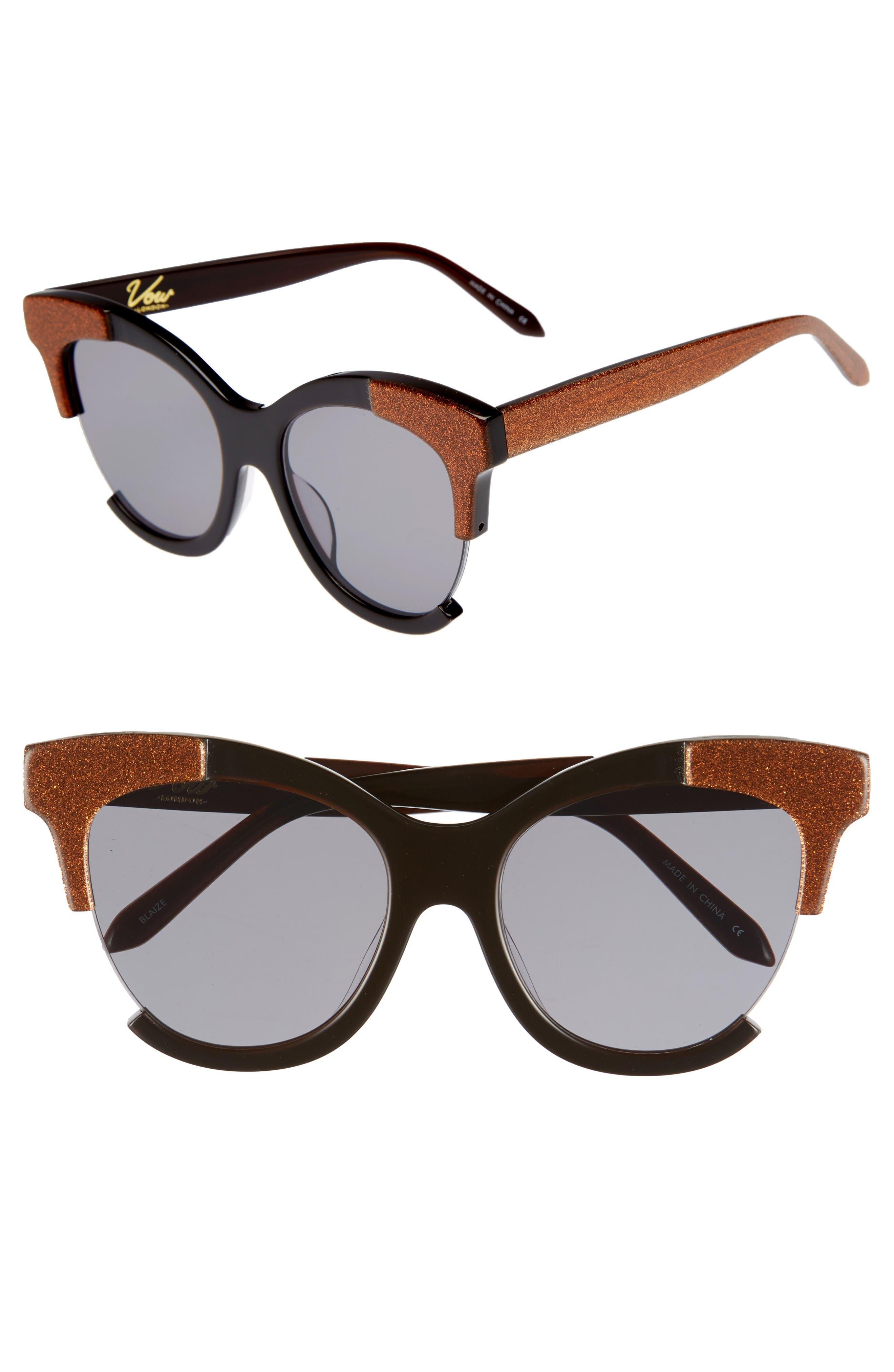 Alternate Image 1 Selected - Vow London Blaize 51mm Sunglasses