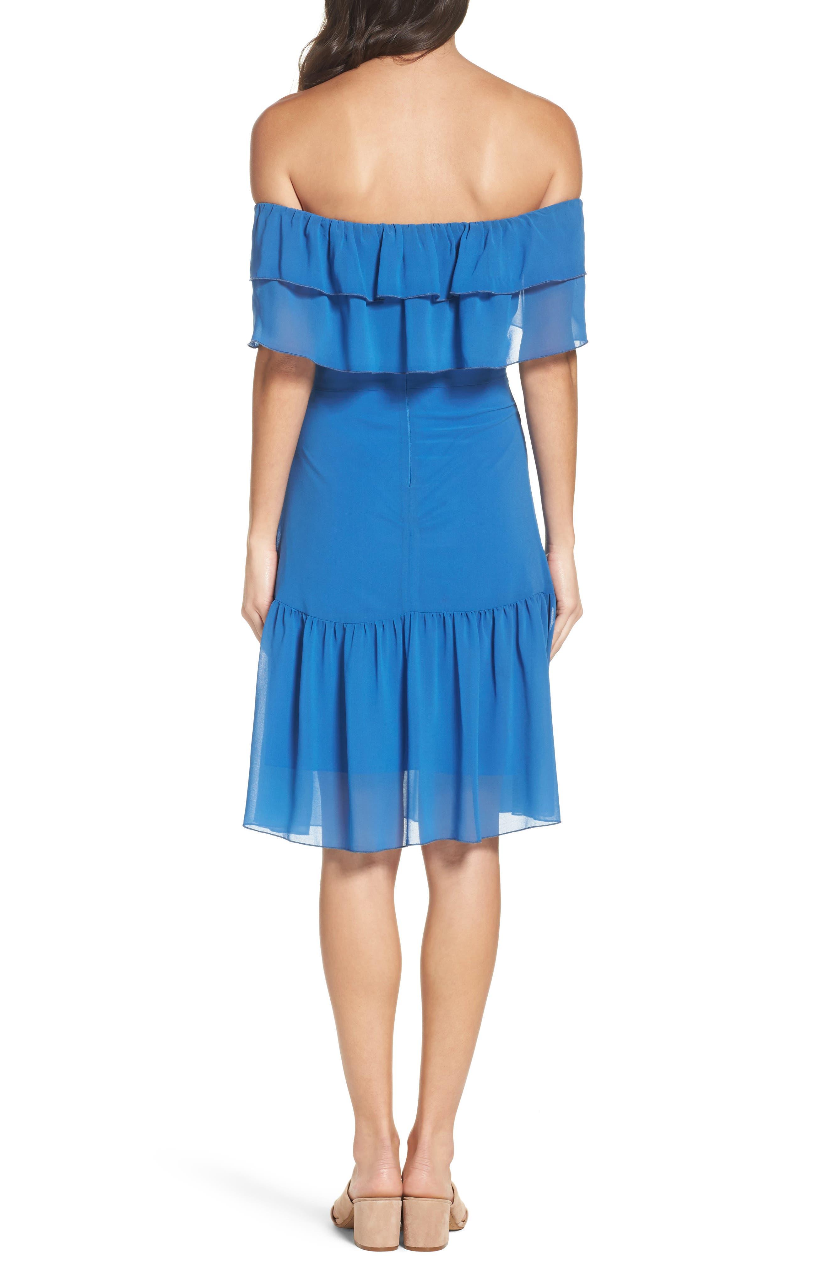 Alternate Image 2  - NSR Ruffle Dress