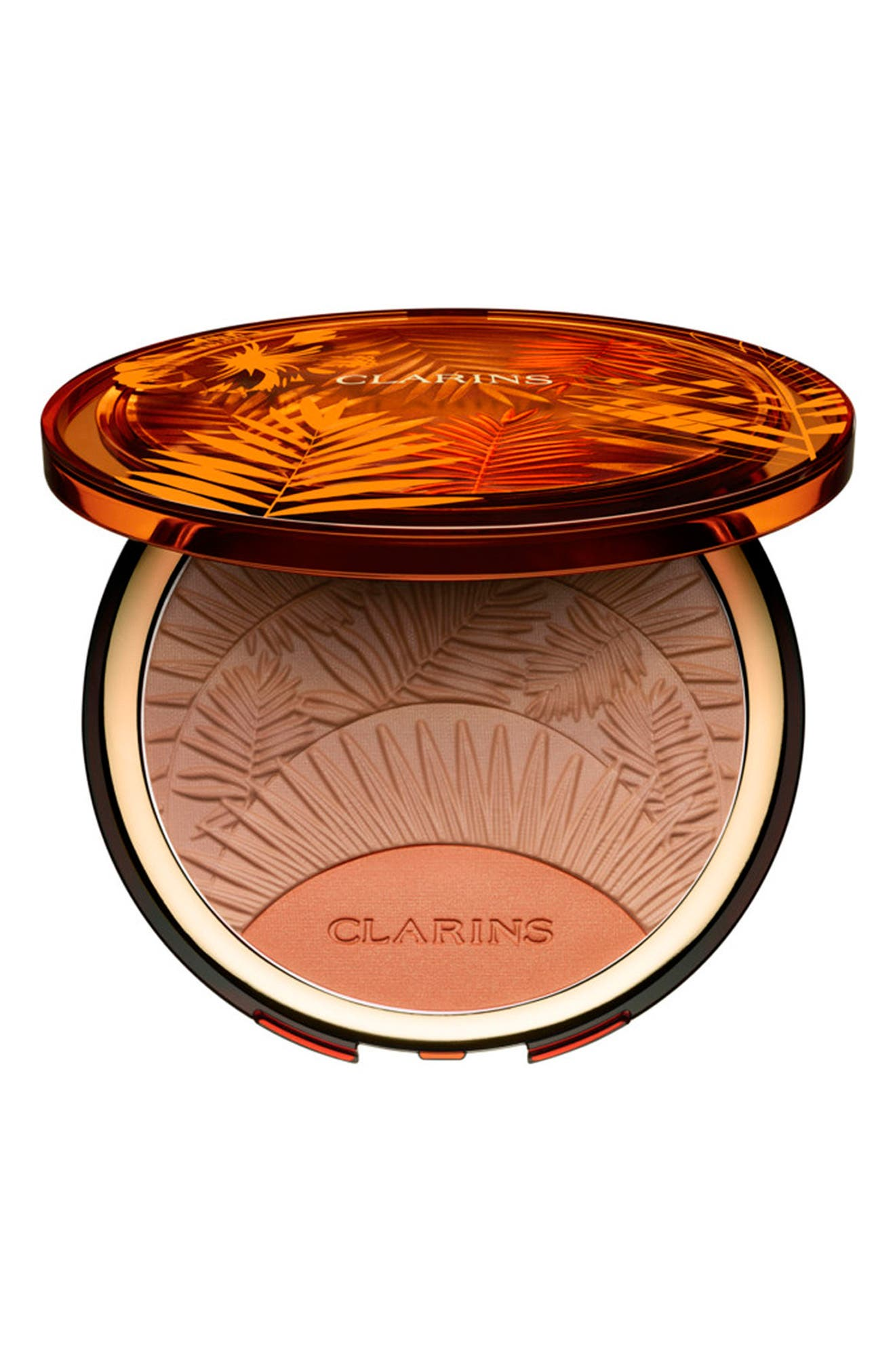 Alternate Image 1 Selected - Clarins Sunkissed Bronzing & Blush Compact
