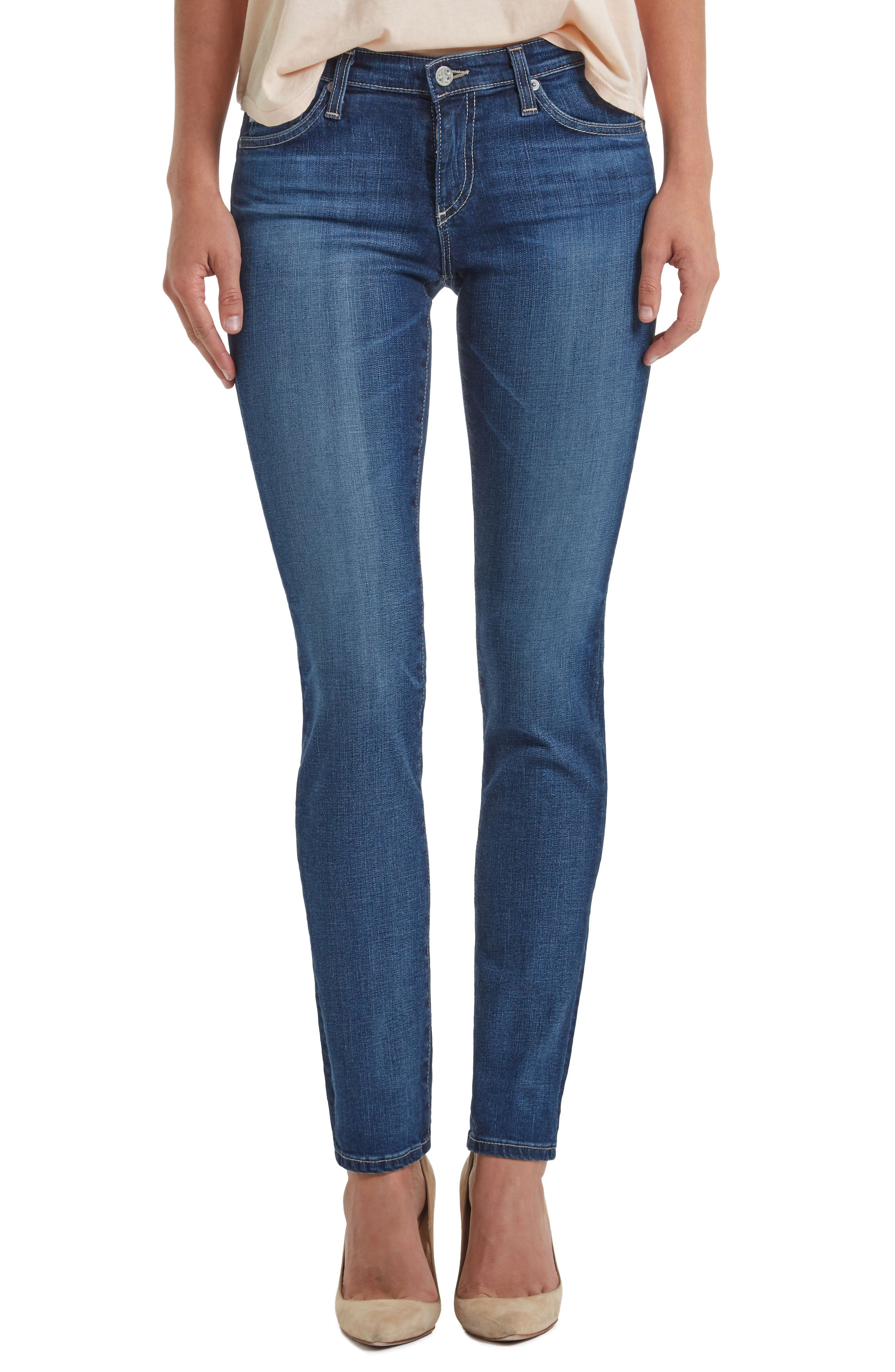 Alternate Image 1 Selected - AG 'Prima' Skinny Jeans (11 Year Journey)