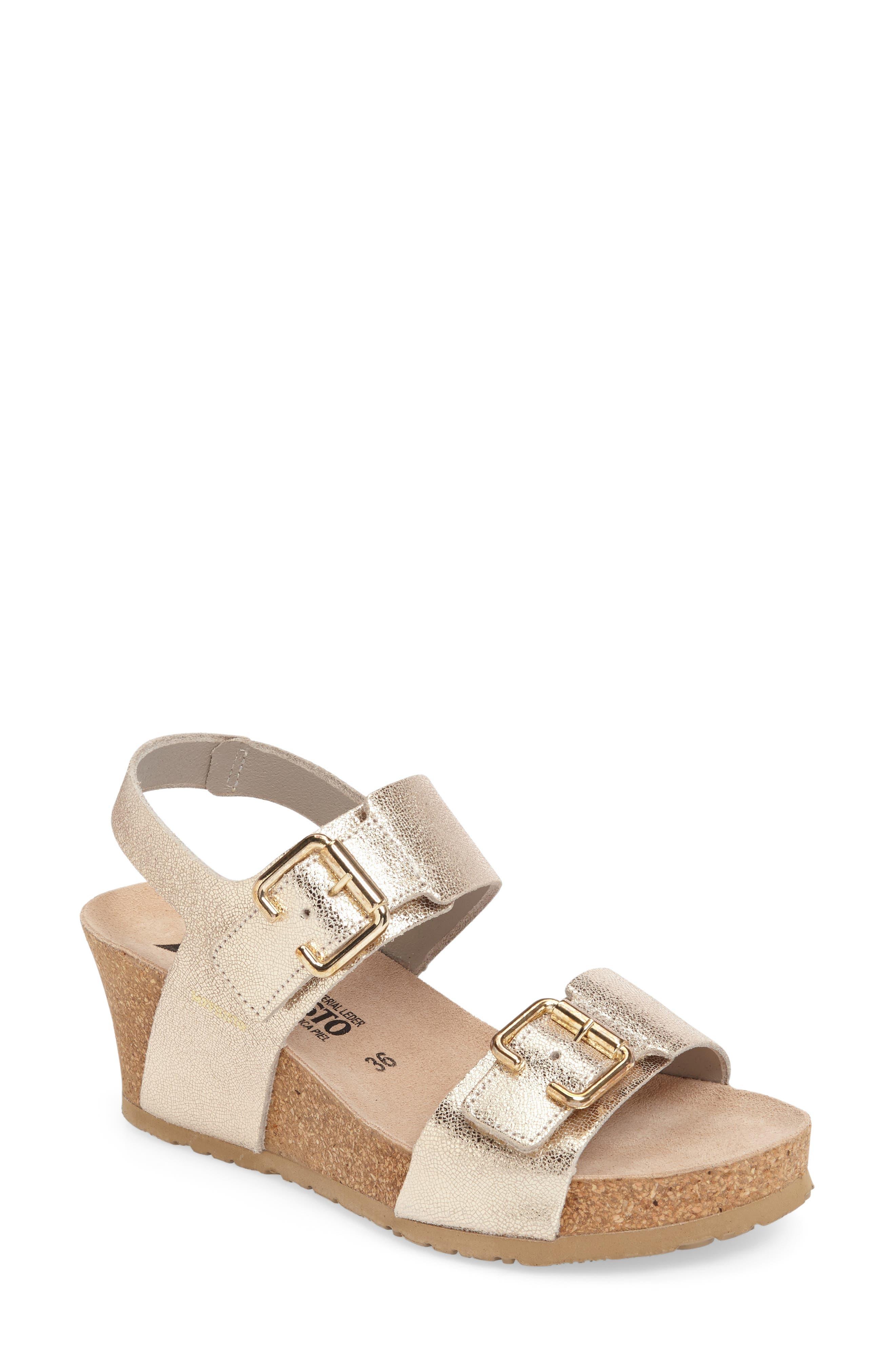 Alternate Image 1 Selected - Mephisto Lissandra Platform Wedge Sandal (Women)