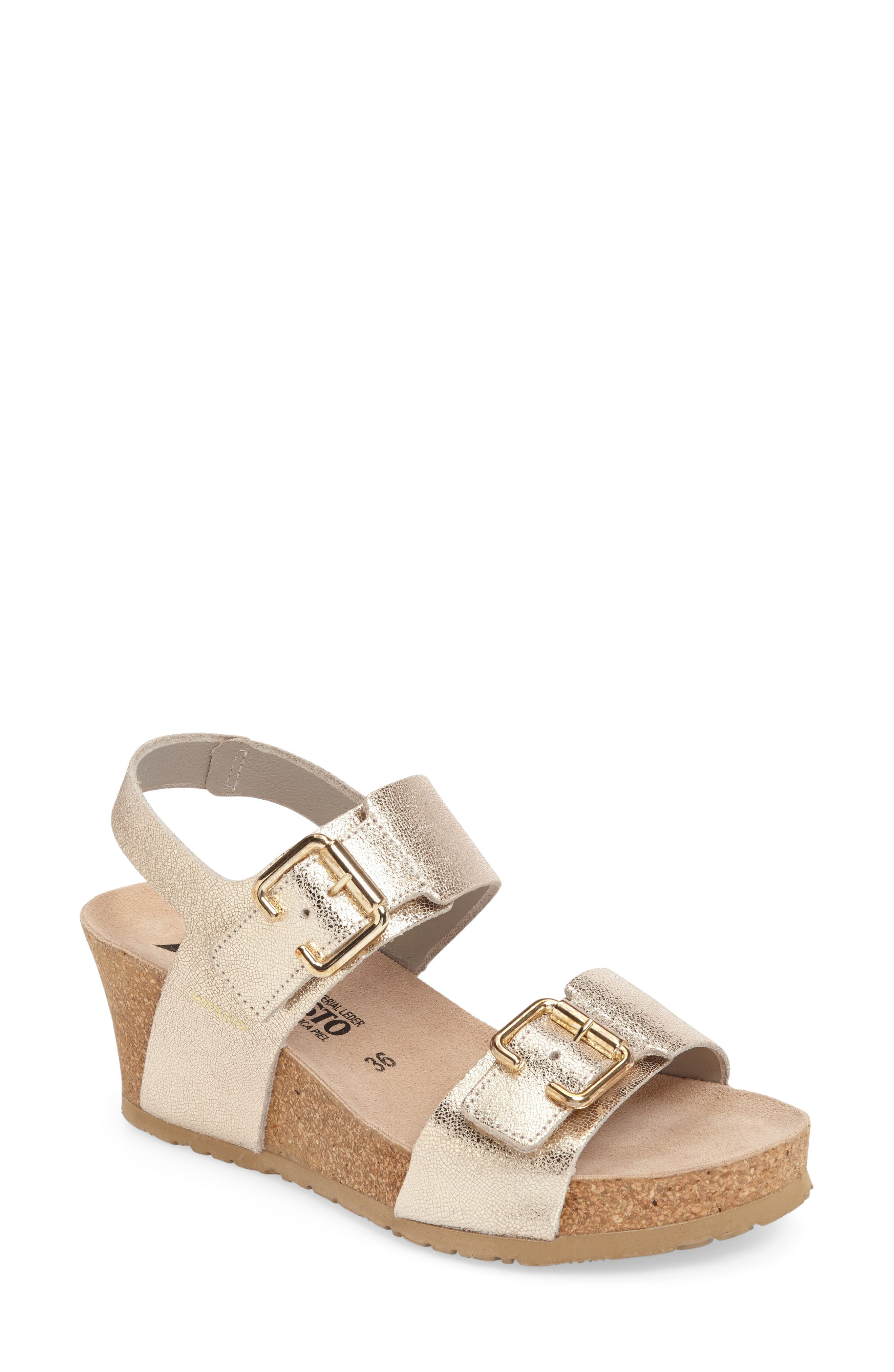 Main Image - Mephisto Lissandra Platform Wedge Sandal (Women)