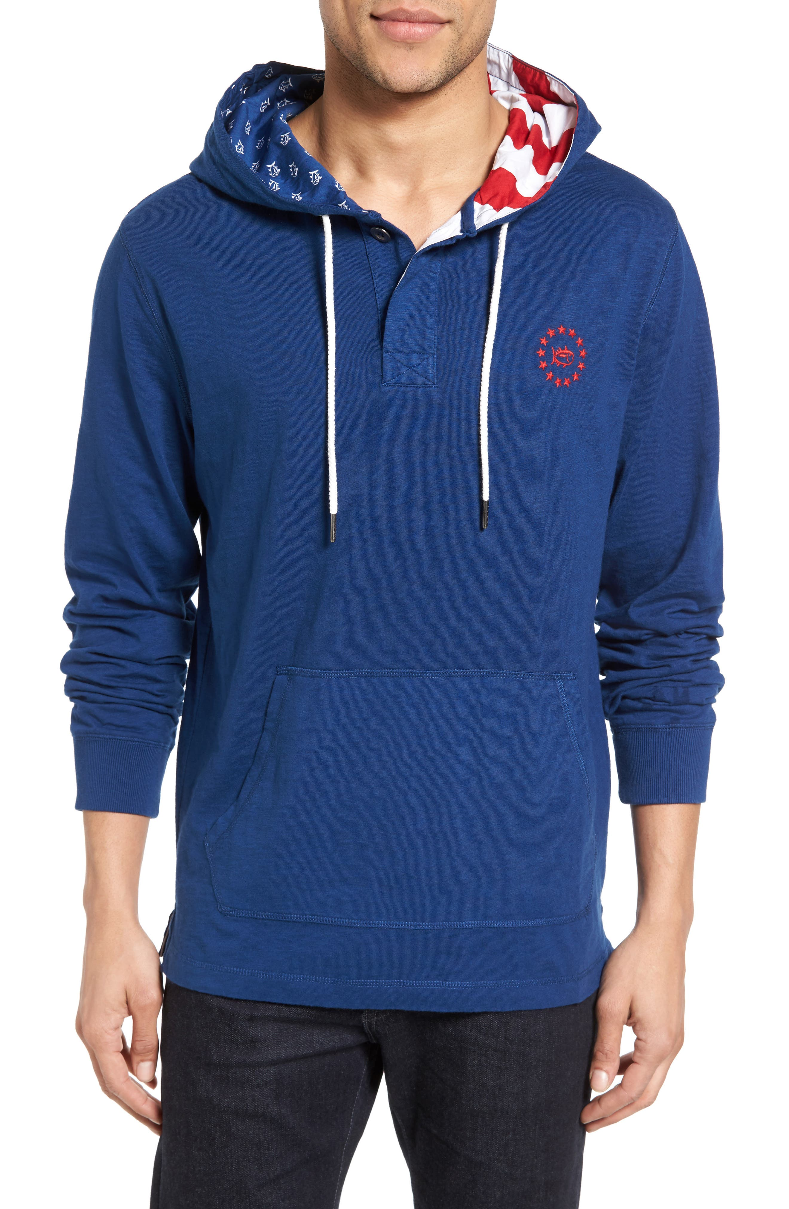 Main Image - Southern Tide Freedom Rock Hoodie