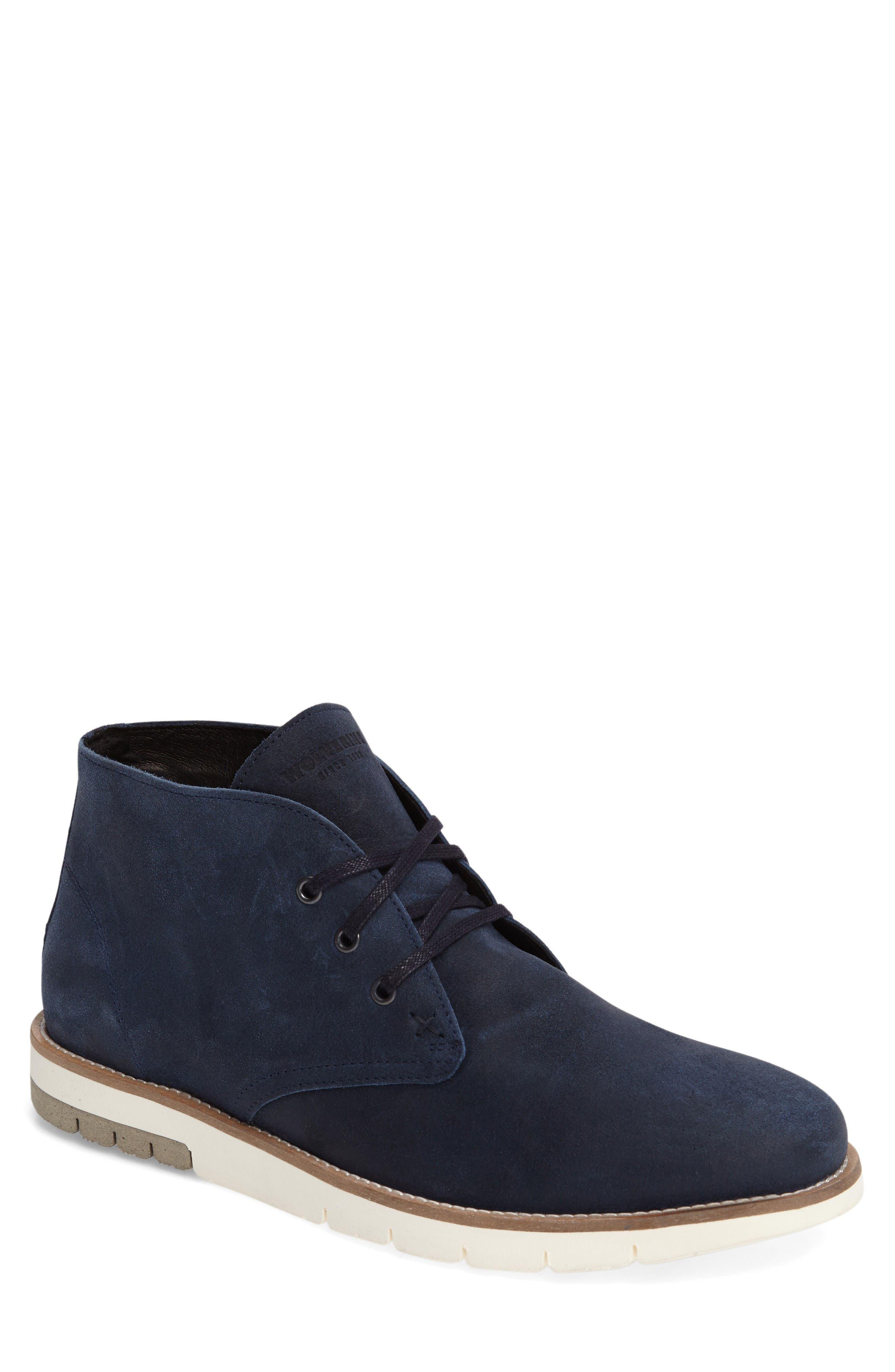 Gibson Chukka Boot,                         Main,                         color, Navy Suede