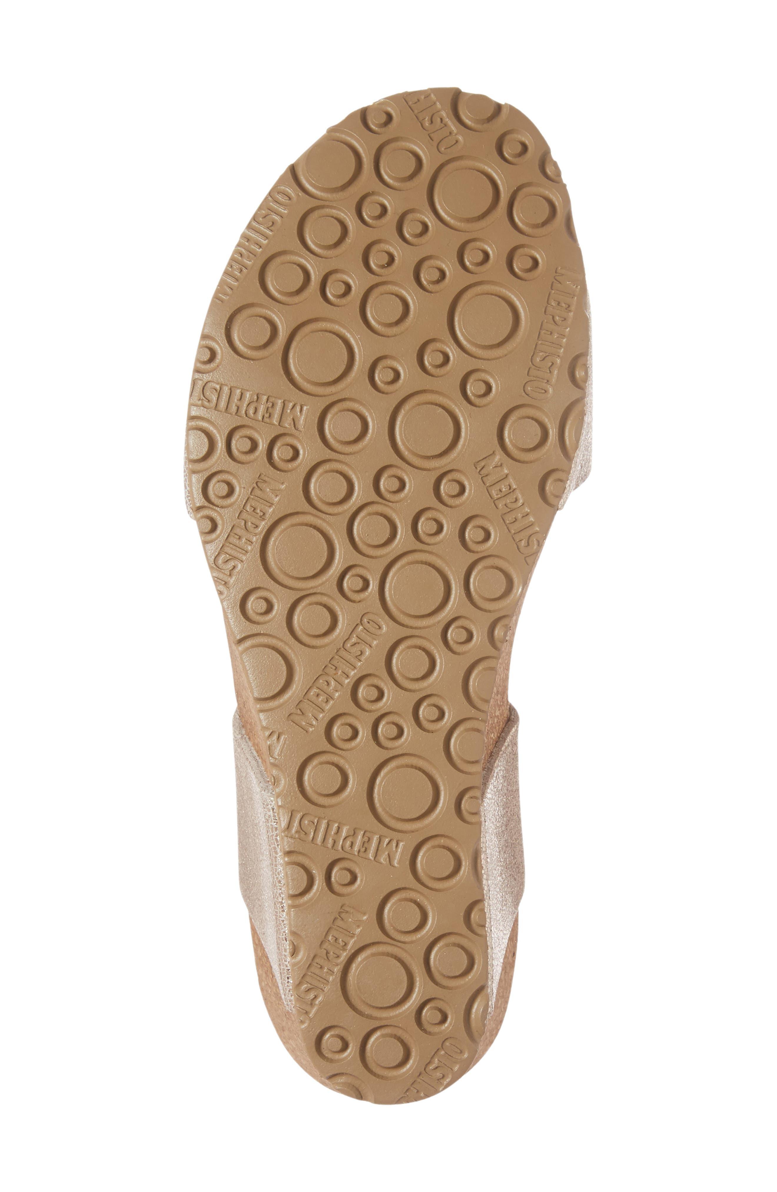 Alternate Image 6  - Mephisto Lissandra Platform Wedge Sandal (Women)