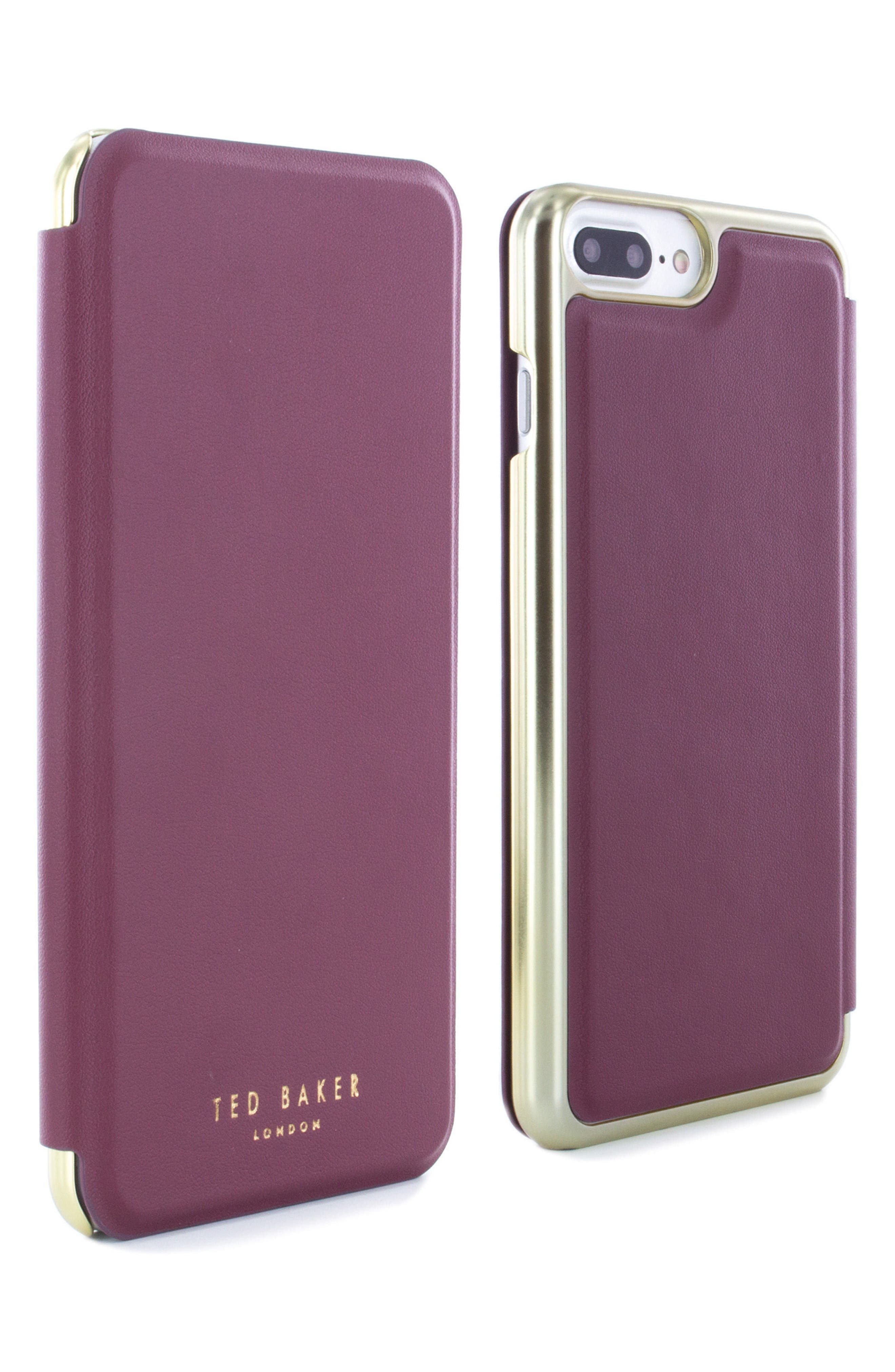 Alternate Image 4  - Ted Baker London Shannon iPhone 6/6s/7/8 Plus Mirror Folio Case