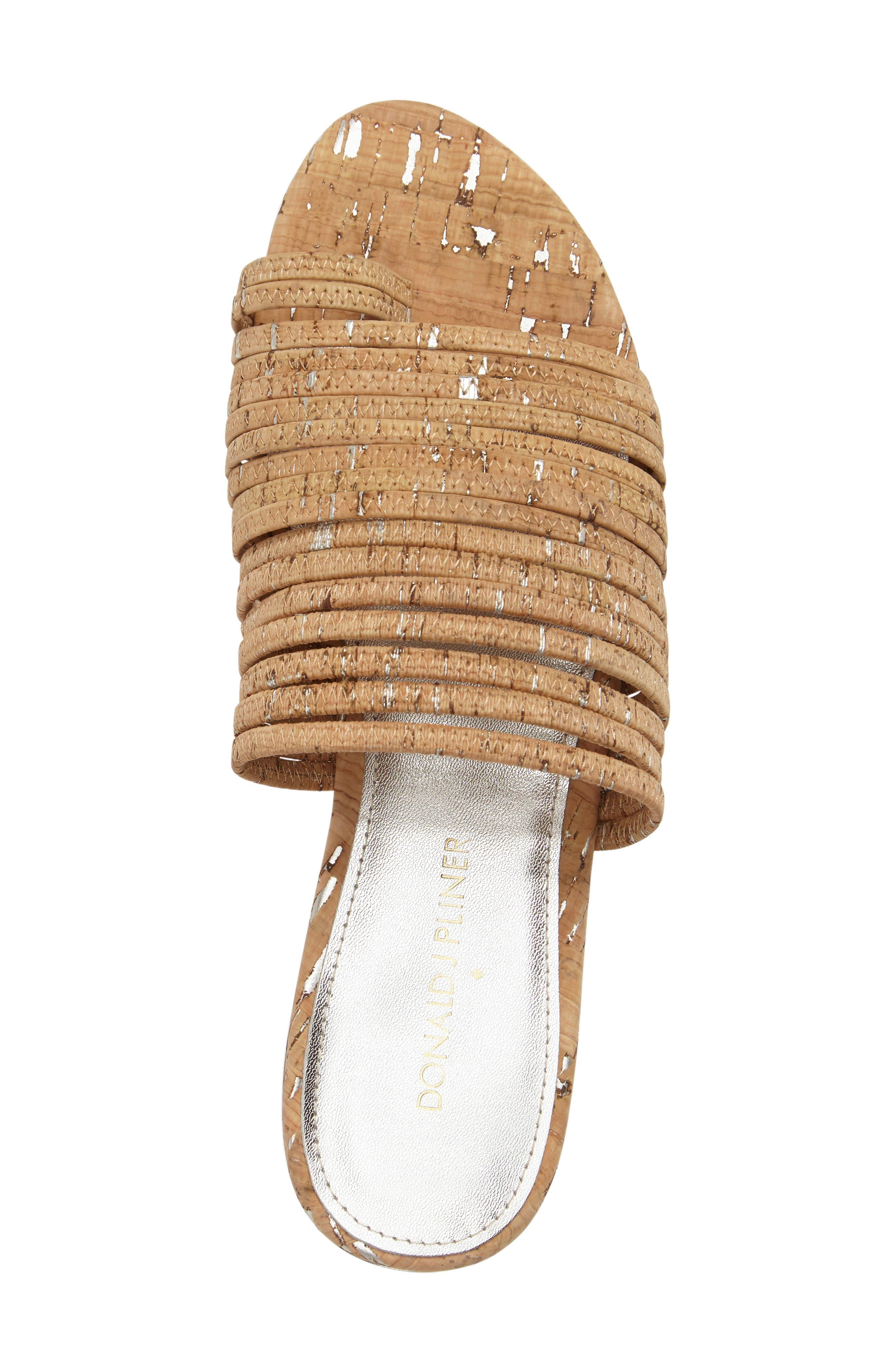 Frea Strappy Sandal,                             Alternate thumbnail 5, color,                             Natural Cork