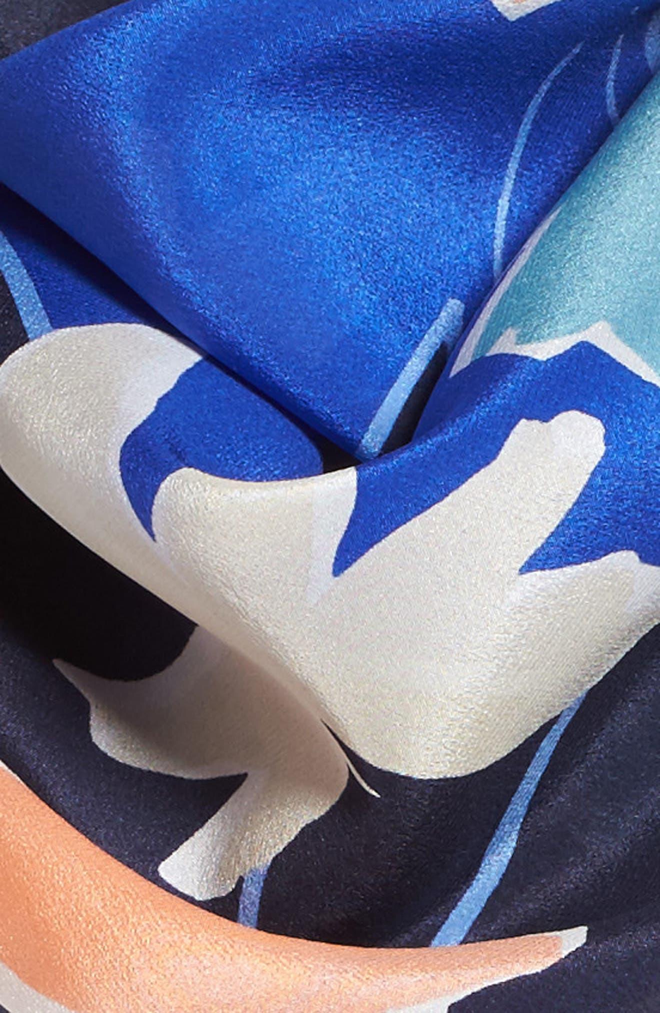 Alternate Image 3  - Halogen Bold Savanna Square Silk Scarf