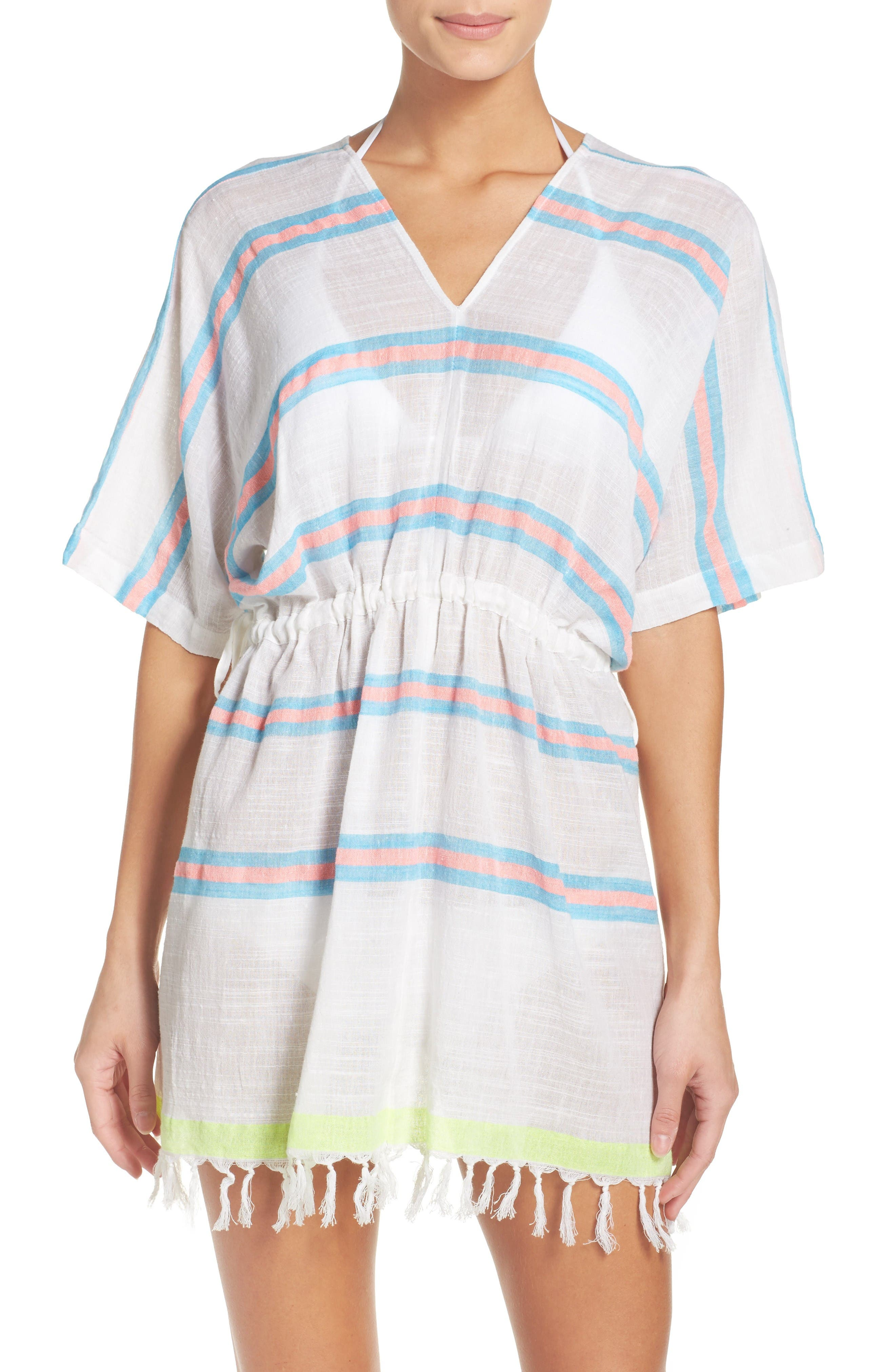 Melody Cover-Up Tunic,                         Main,                         color, Pebble Blue